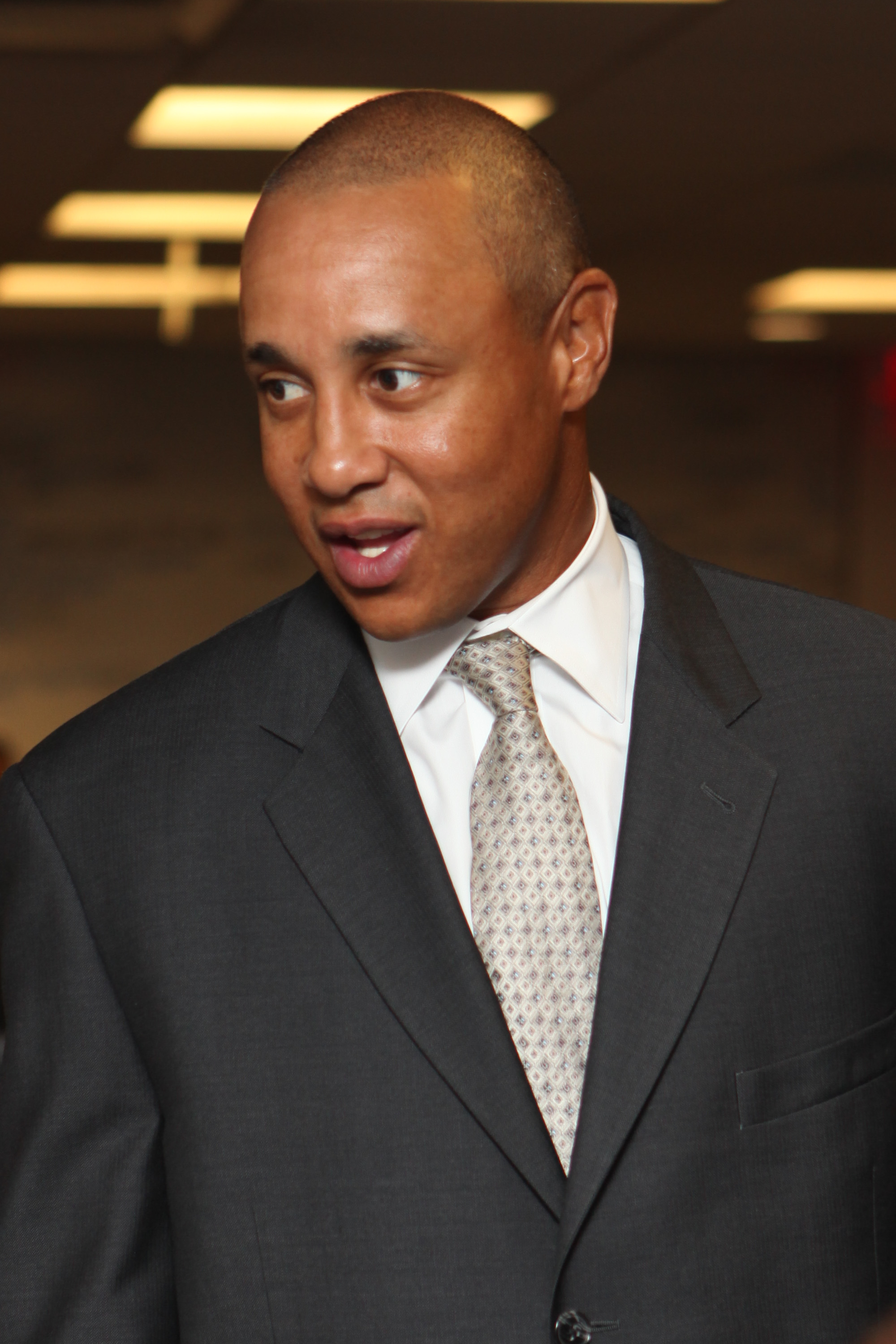 NEW YORK - SEPTEMBER 13:  Former NBA player John Starks attends the 6th Annual BGC Charity Day at BGC Partners, INC on September 13, 2010 in New York City.  (Photo by Chelsea Lauren/Getty Images)