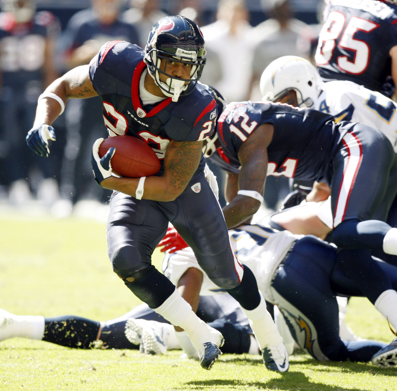 Texans running back Arian Foster