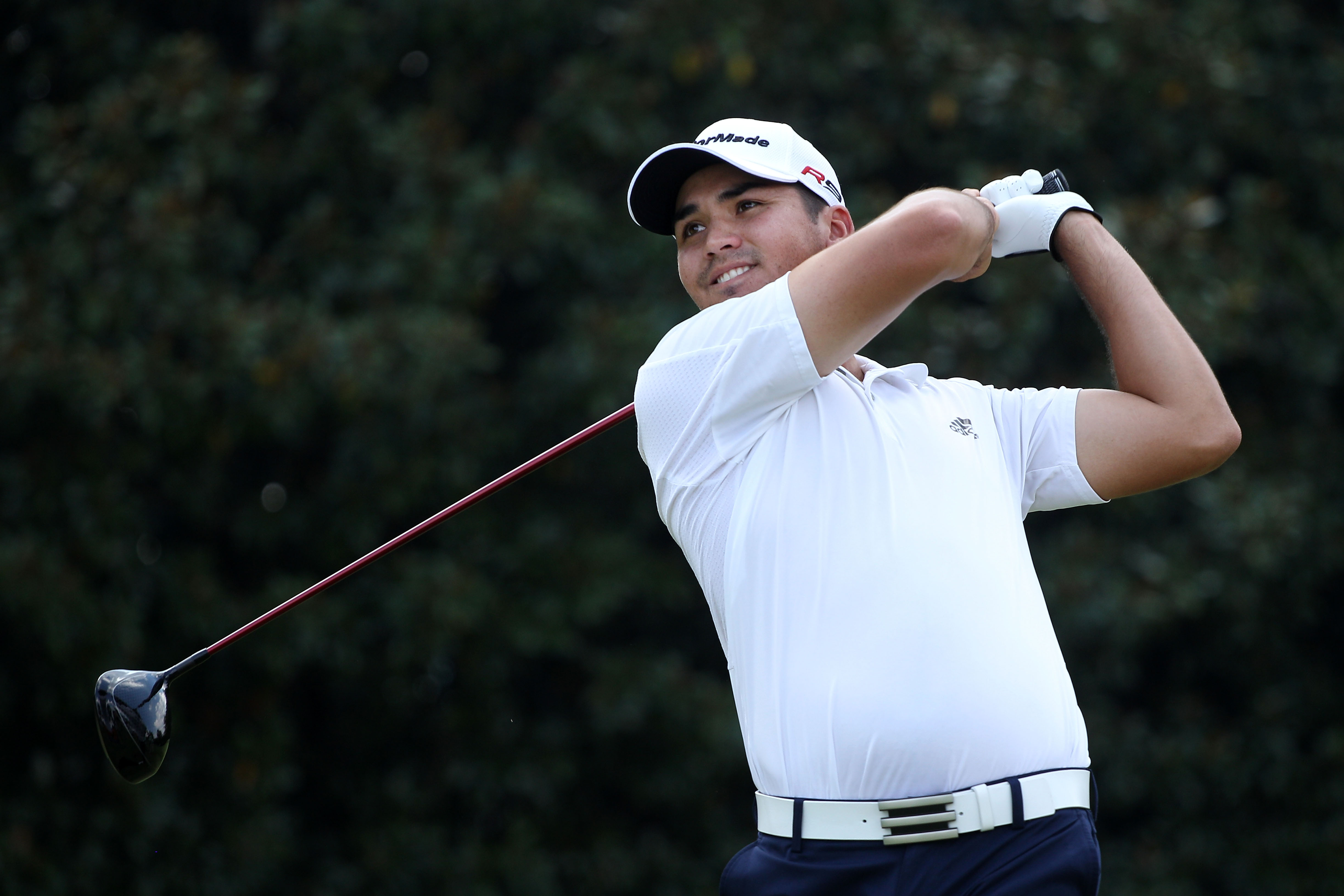 ATLANTA - SEPTEMBER 23:  Jason Day of Australia hits his tee shot on the fifth hole during the first round of THE TOUR Championship presented by Coca-Cola at East Lake Golf Club on September 23, 2010 in Atlanta, Georgia.  (Photo by Scott Halleran/Getty Im