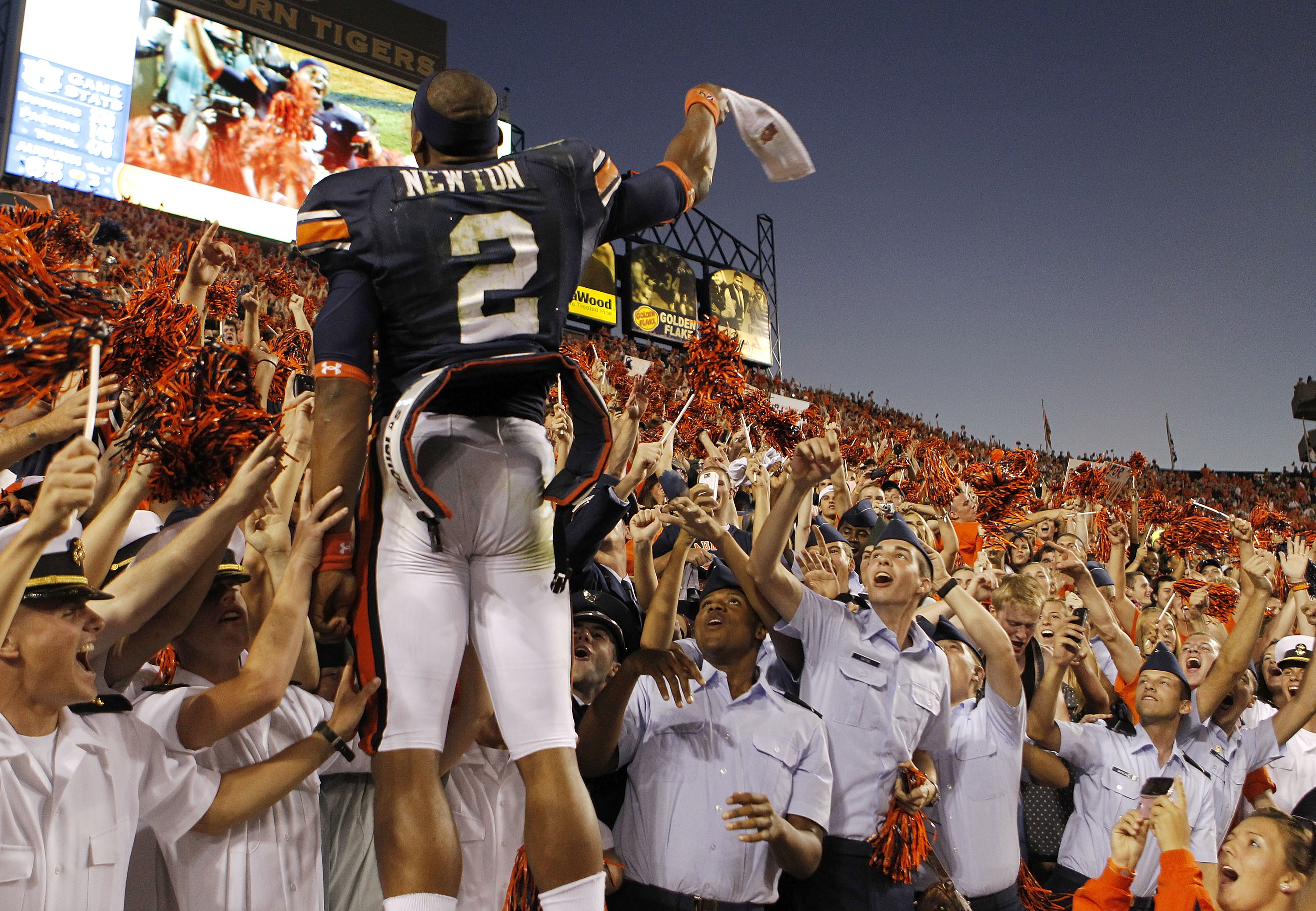 Cam Newton is adored by the Auburn Nation and the fans who have witnessed Greatness during adversity!