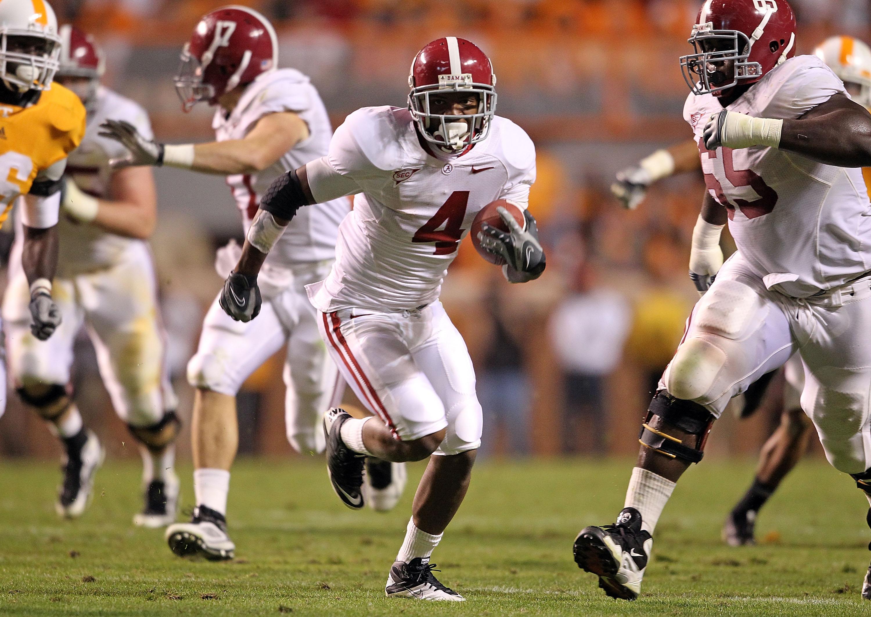 Alabama Punt and Kickoff return specialist, Marquis Maze