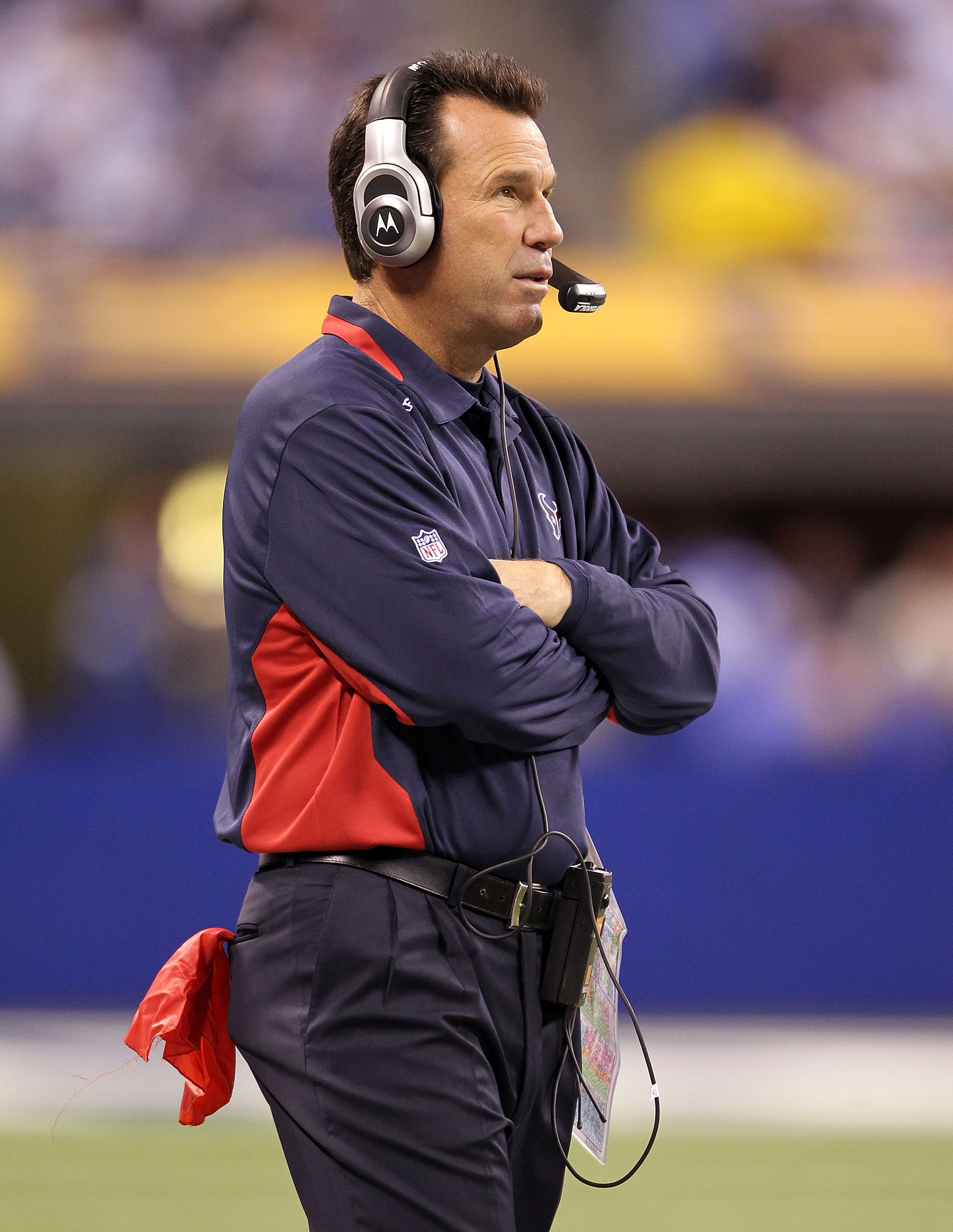 Texans head coach Gary Kubiak