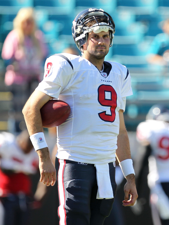 Texans quarterback Matt Leinart