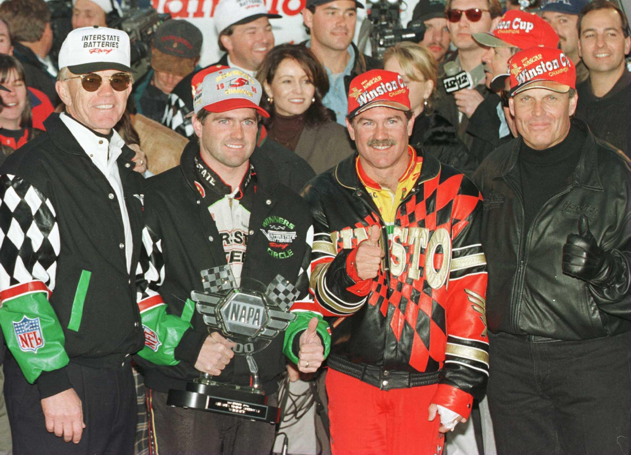 Joe Gibbs & Rick Hendrick Have Done Battle for NASCAR Titles in Past but Hendrick has more NASCAR hardware.