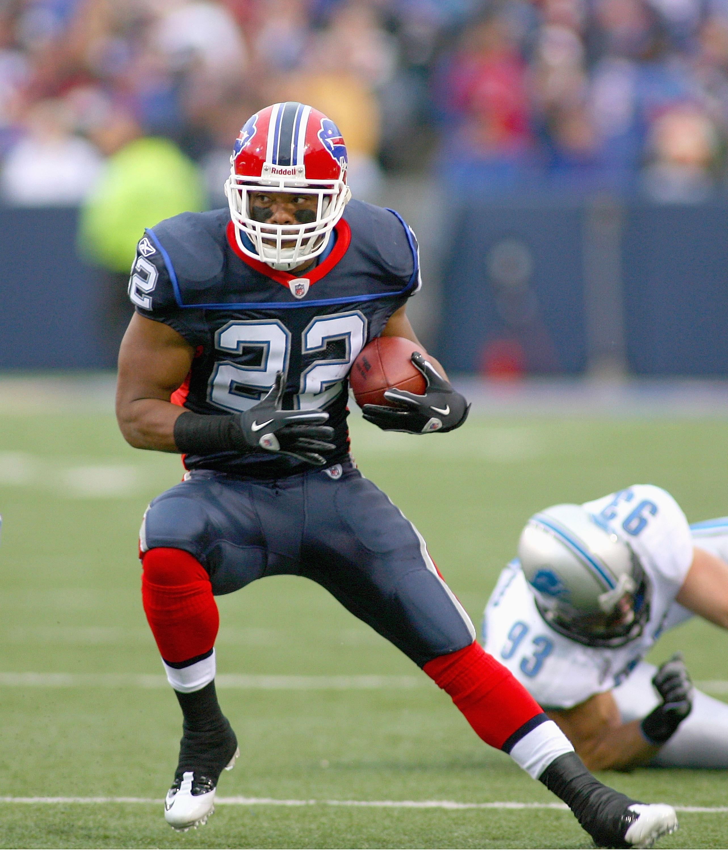 Bills running back Fred Jackson