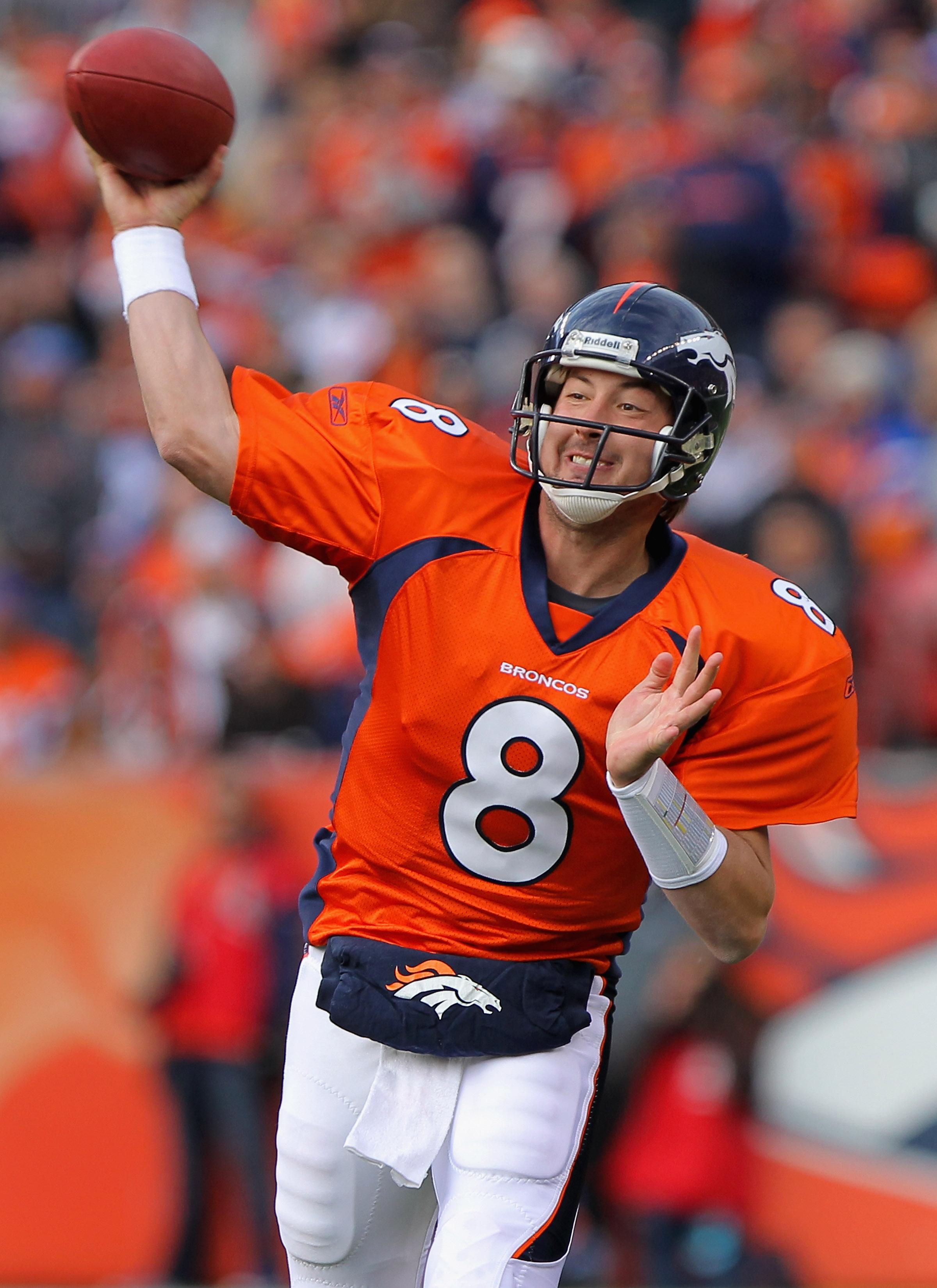 Broncos quarterback Kyle Orton
