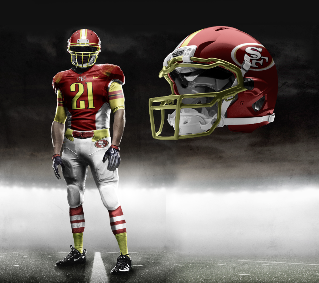 7d7b2aa4f77 Those Nike Pro Combat NFL Uniform prototypes really had you going, didn't  they?