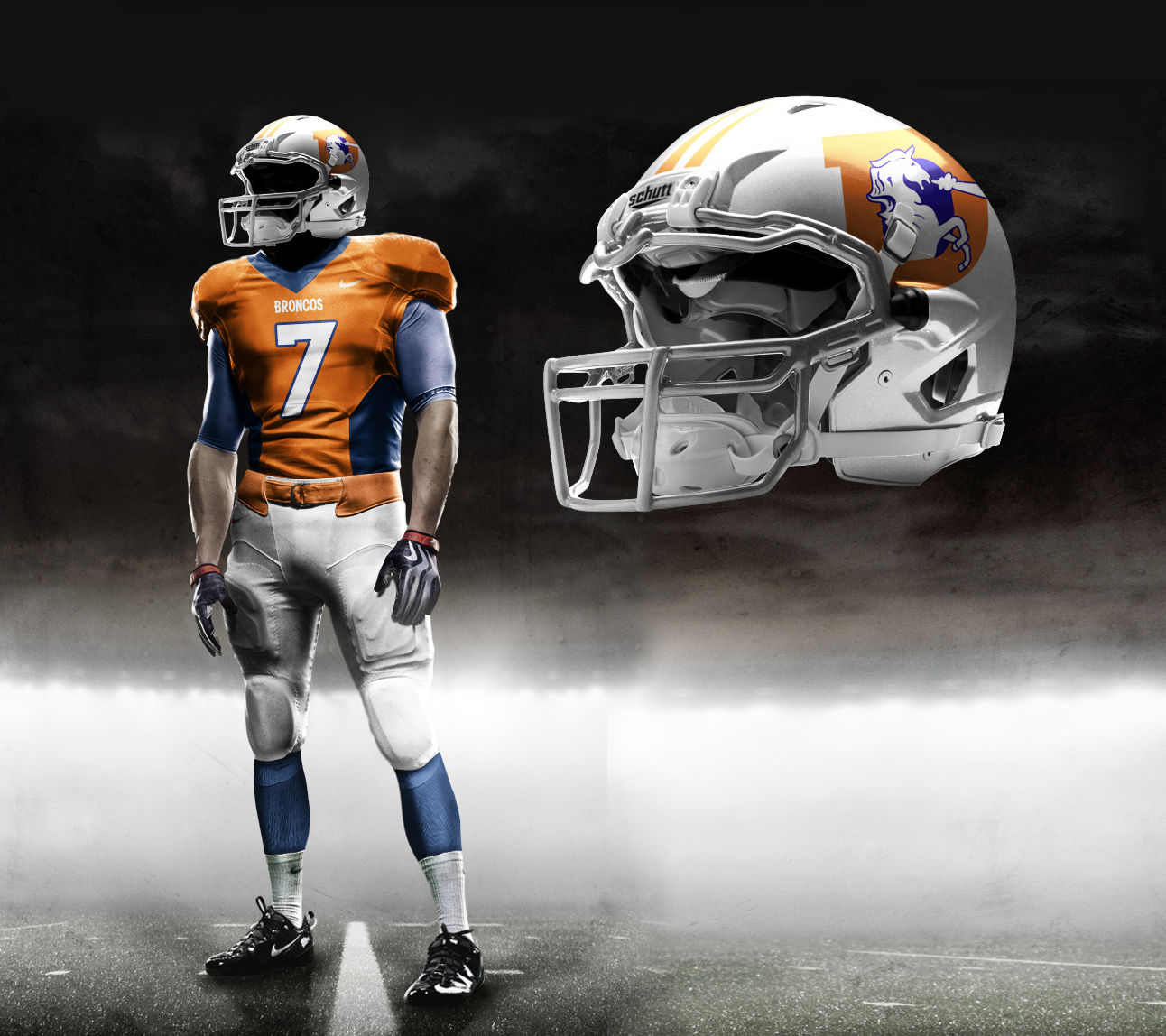 c028f096f4fc Nike Pro Combat NFL Uniforms  Check Out Fake Unis That Tricked Fans ...