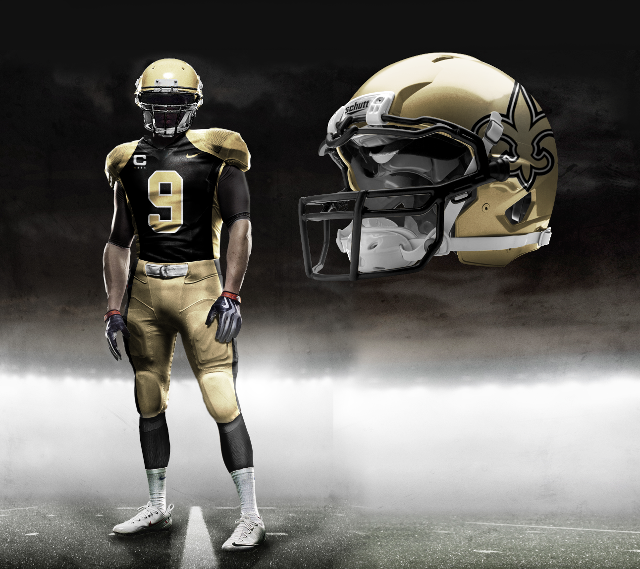 Nike Pro Combat NFL Uniforms: Check Out