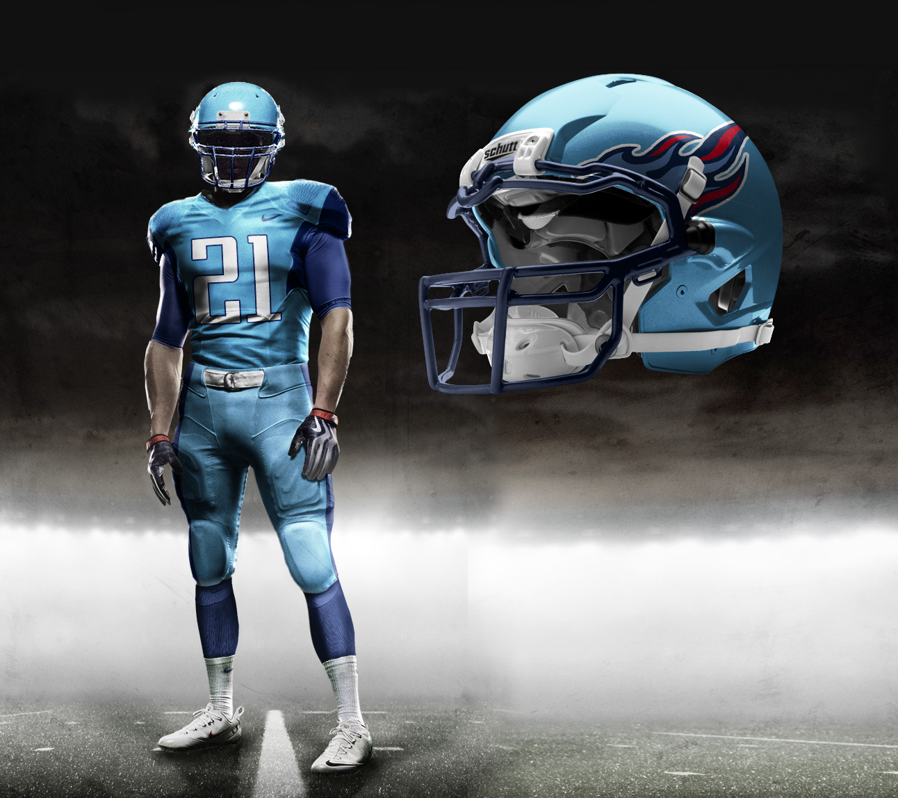Fragante Mendigar Ejercicio  Nike Pro Combat NFL Uniforms: Check Out Fake Unis That Tricked Fans |  Bleacher Report | Latest News, Videos and Highlights