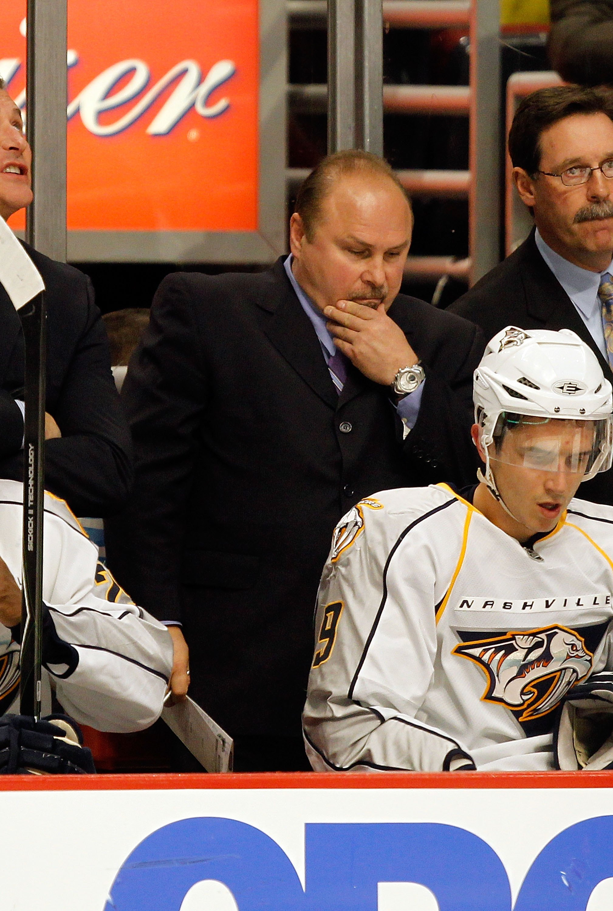 The only coach the Preds have had