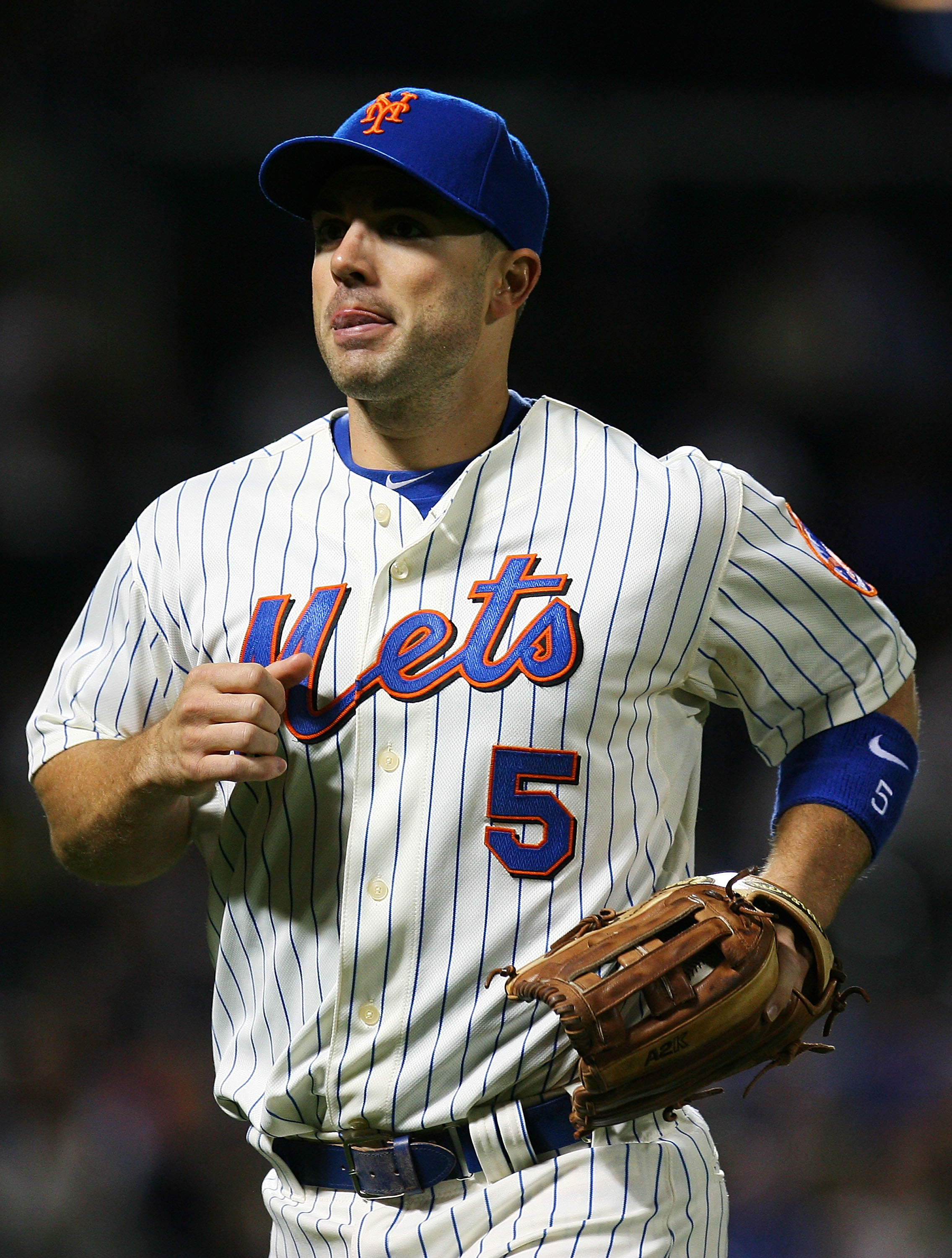 NEW YORK - SEPTEMBER 15:  David Wright #5 of the New York Mets is seen during a game against the Pittsburgh Pirates on September 15, 2010 at Citi Field in the Flushing neighborhood of the Queens borough of New York City.  (Photo by Andrew Burton/Getty Ima