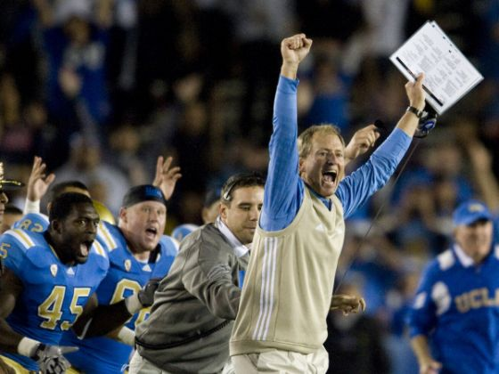 It feels like a long time since Bruin football fans have had much to cheer about, but the future isn't so bleak