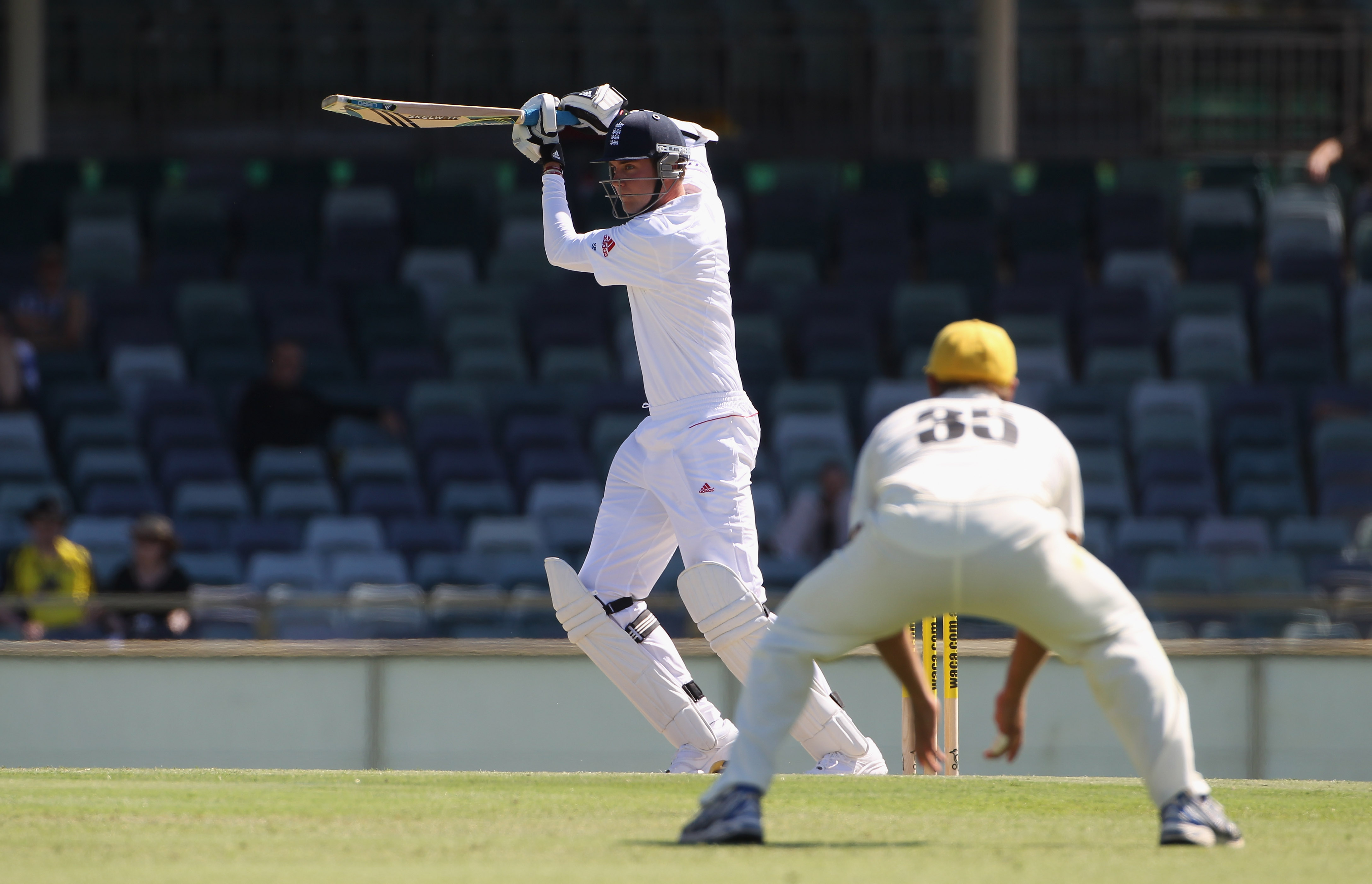 More runs from the Broad bat please!