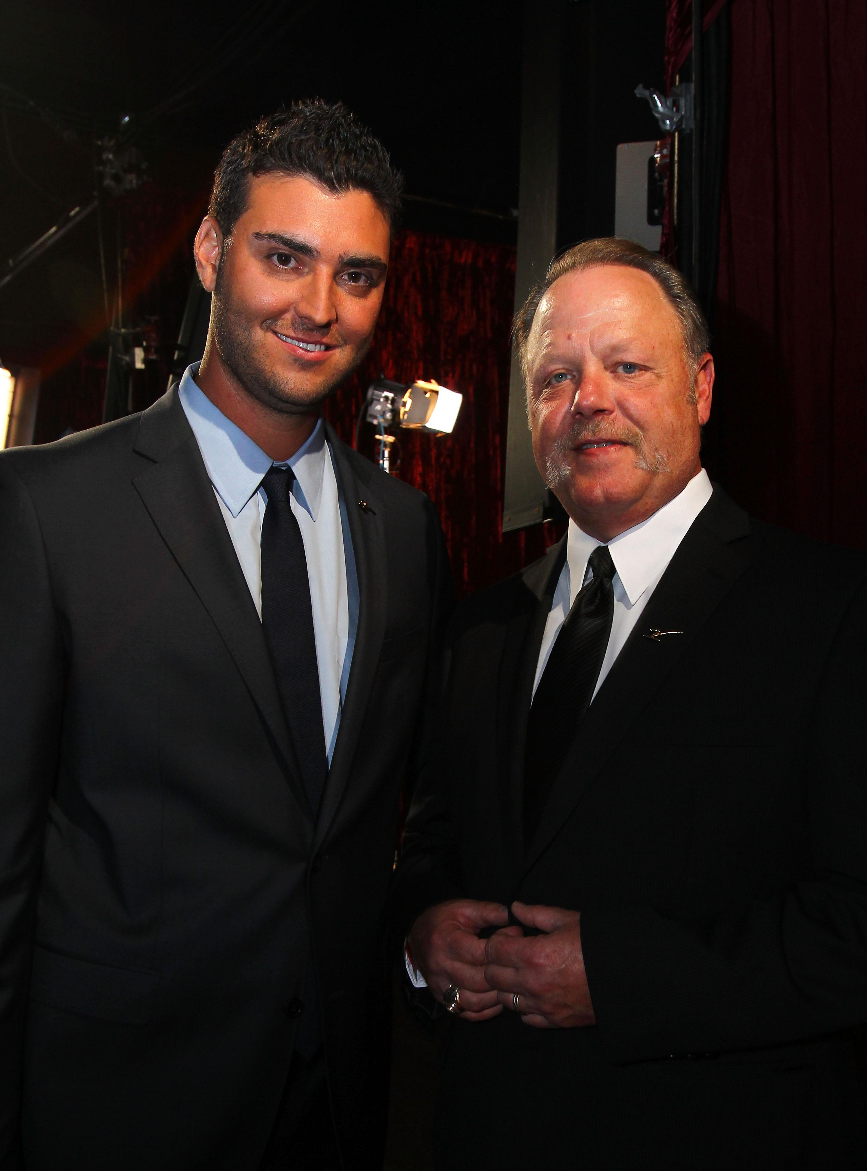 Armando Galarraga and Jim Joyce