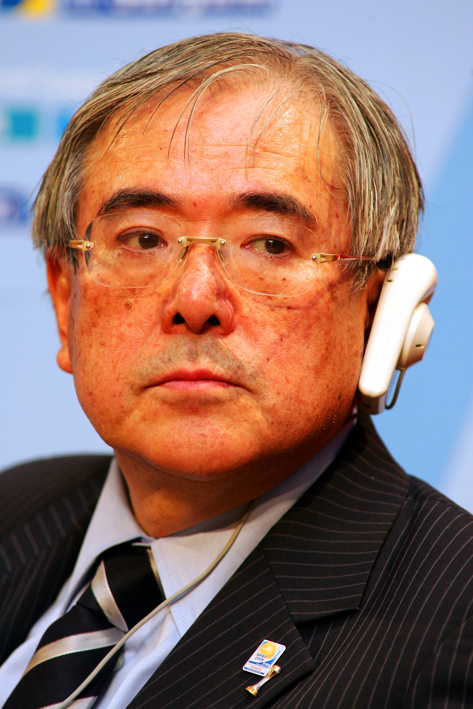 TOKYO - DECEMBER 15: FIFA Executive Member Junji Ogura attend 2010 FIFA World Cup Media Conference at Prince Hotel Shinagawa on December 15, 2008 in Tokyo, Japan. (Photo by Koji Watanabe/Getty Images)