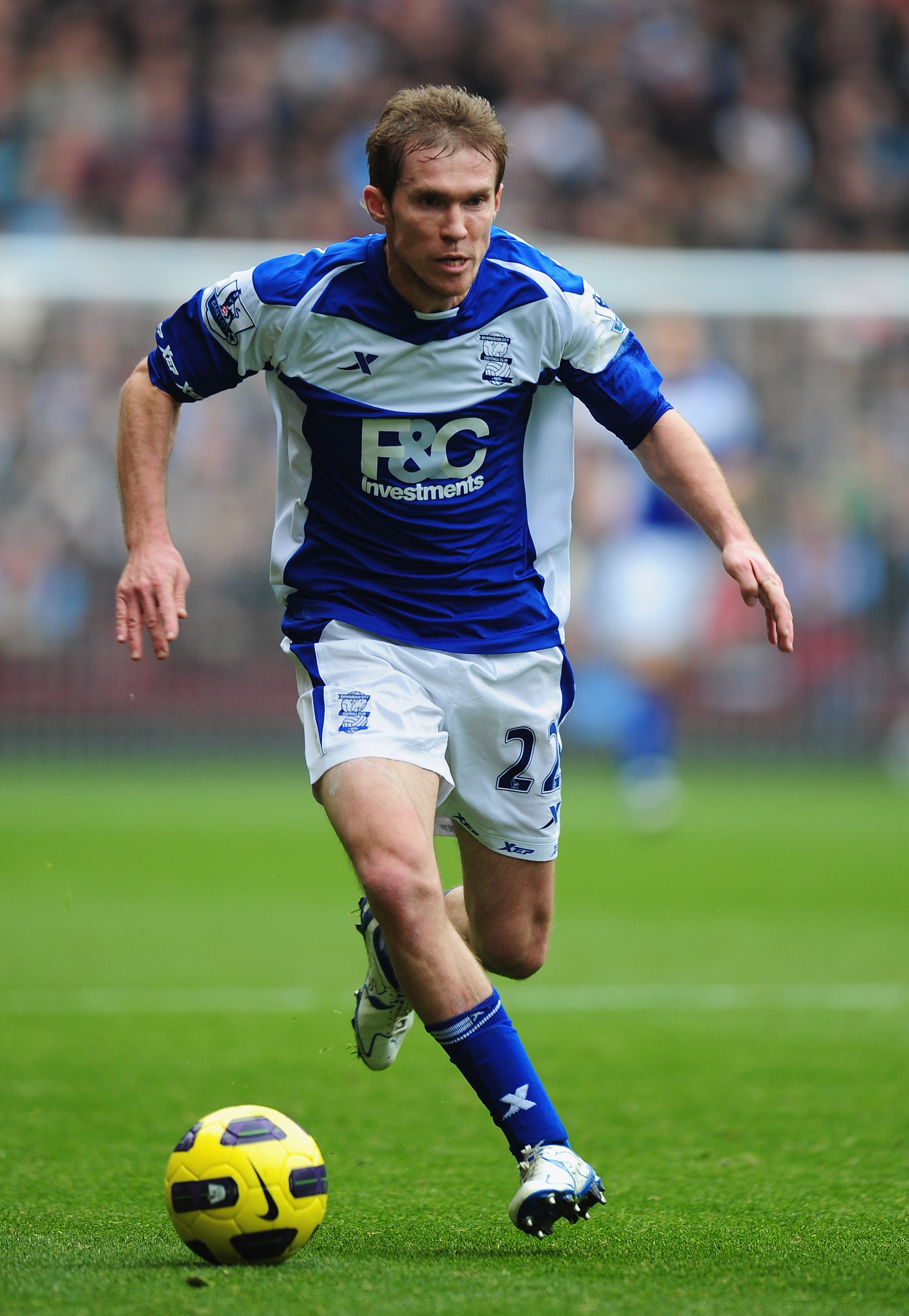 Hleb in action for Birmingham