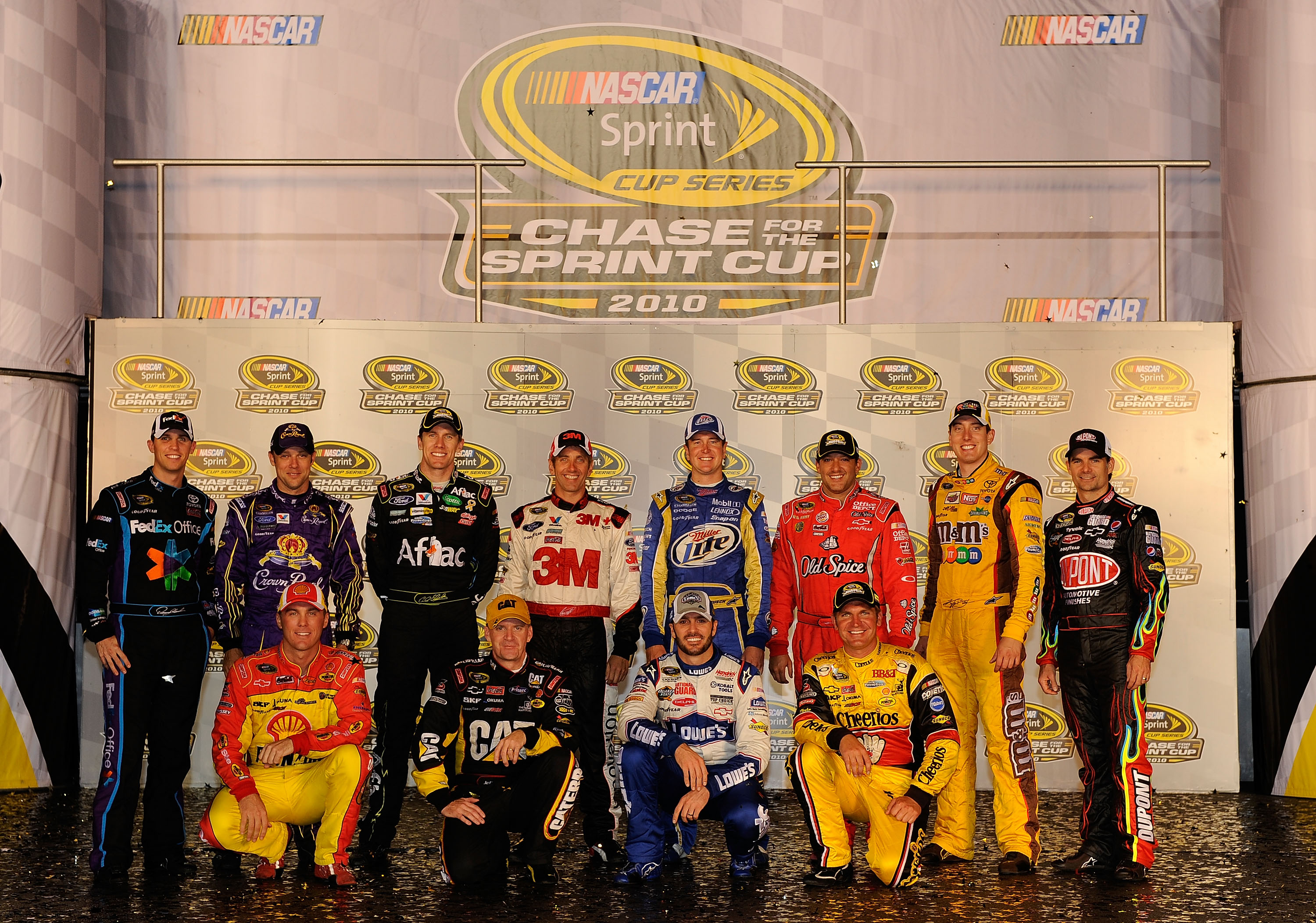 At least two of the NASCAR Chase drivers will issue a challenge to Jimmie Johnson & Chad Knaus.
