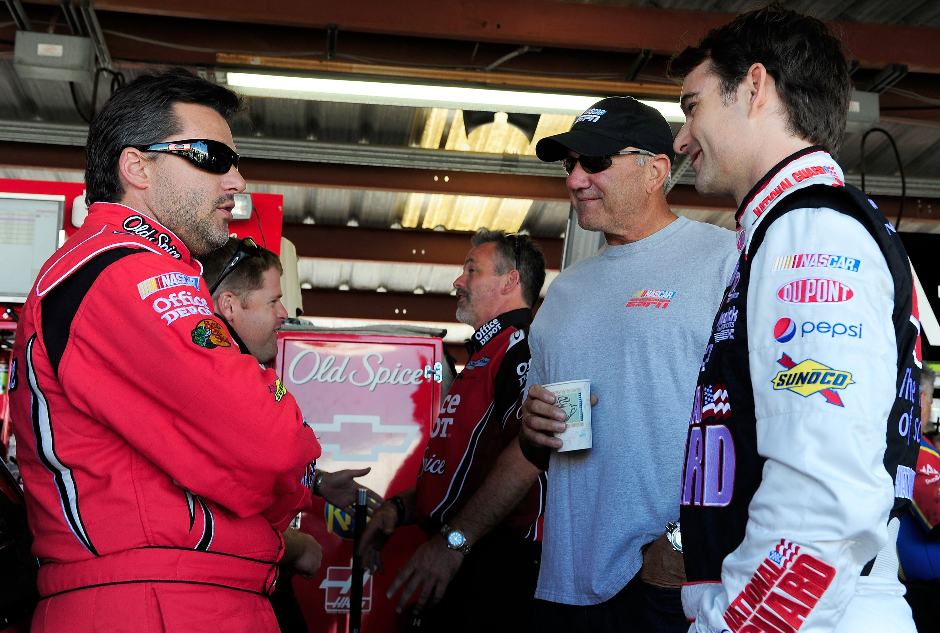 Tony Stewart and Jeff Gordon are both in Hendrick equipment but in 2011 look for them to work more closely in 2011.