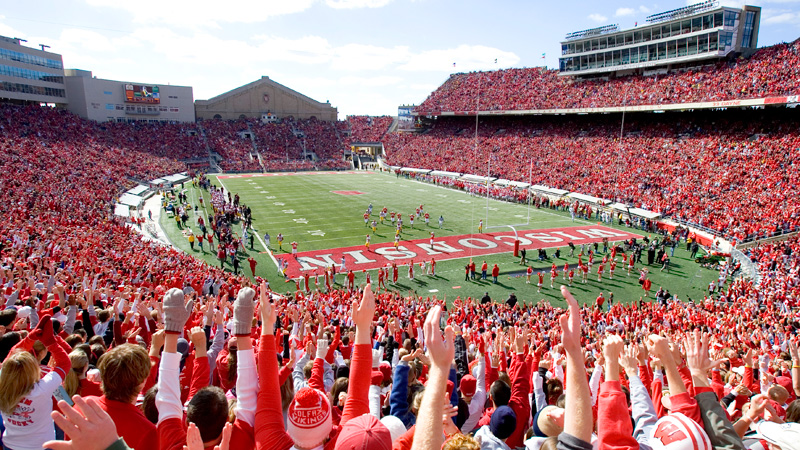 Wisconsin home to the Badgers