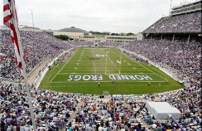 TCU home to the Horned Frogs