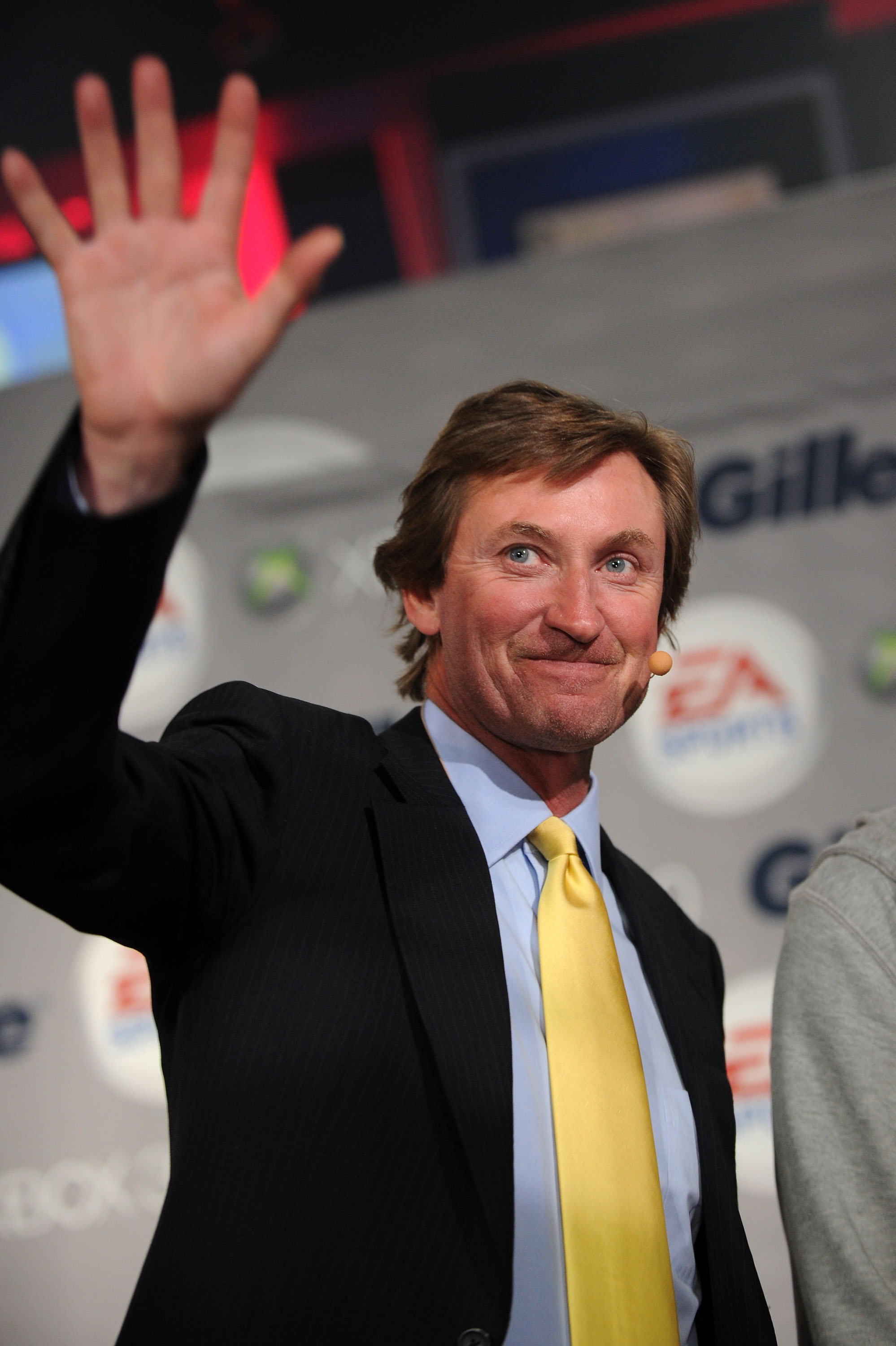 NEW YORK - APRIL 14:  Hockey Hall of Famer Wayne Gretzky attends the Gillette - EA SPORTS Champions of Gaming Global Finals at ARENA Event Space on April 14, 2010 in New York City.  (Photo by Bryan Bedder/Getty Images)