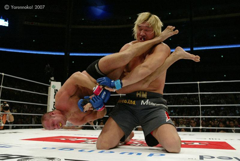 You know who Fedor is...