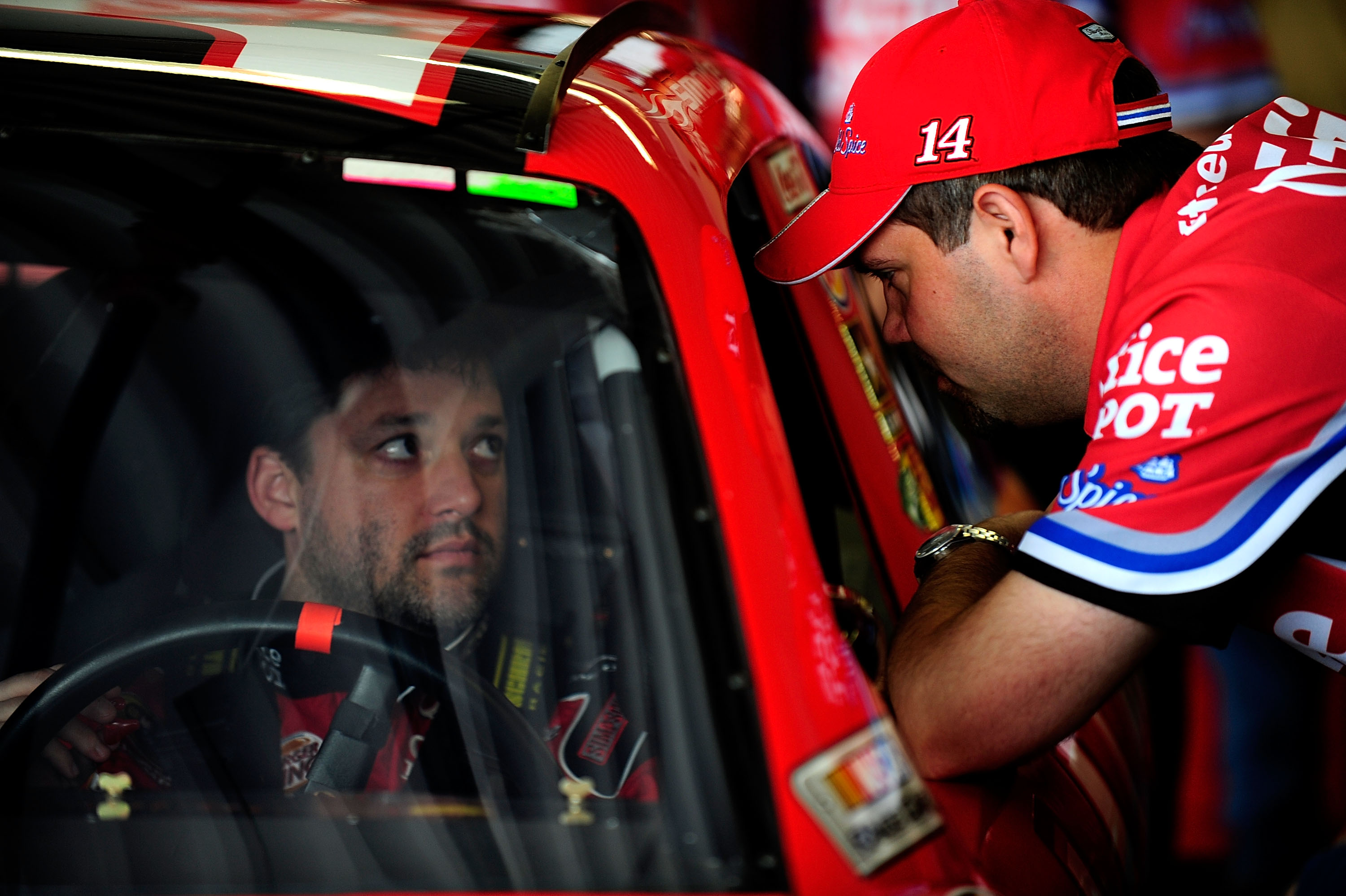 Darien Grubb & Tony Stewart dropped of in 2010 but they are on same wave length.