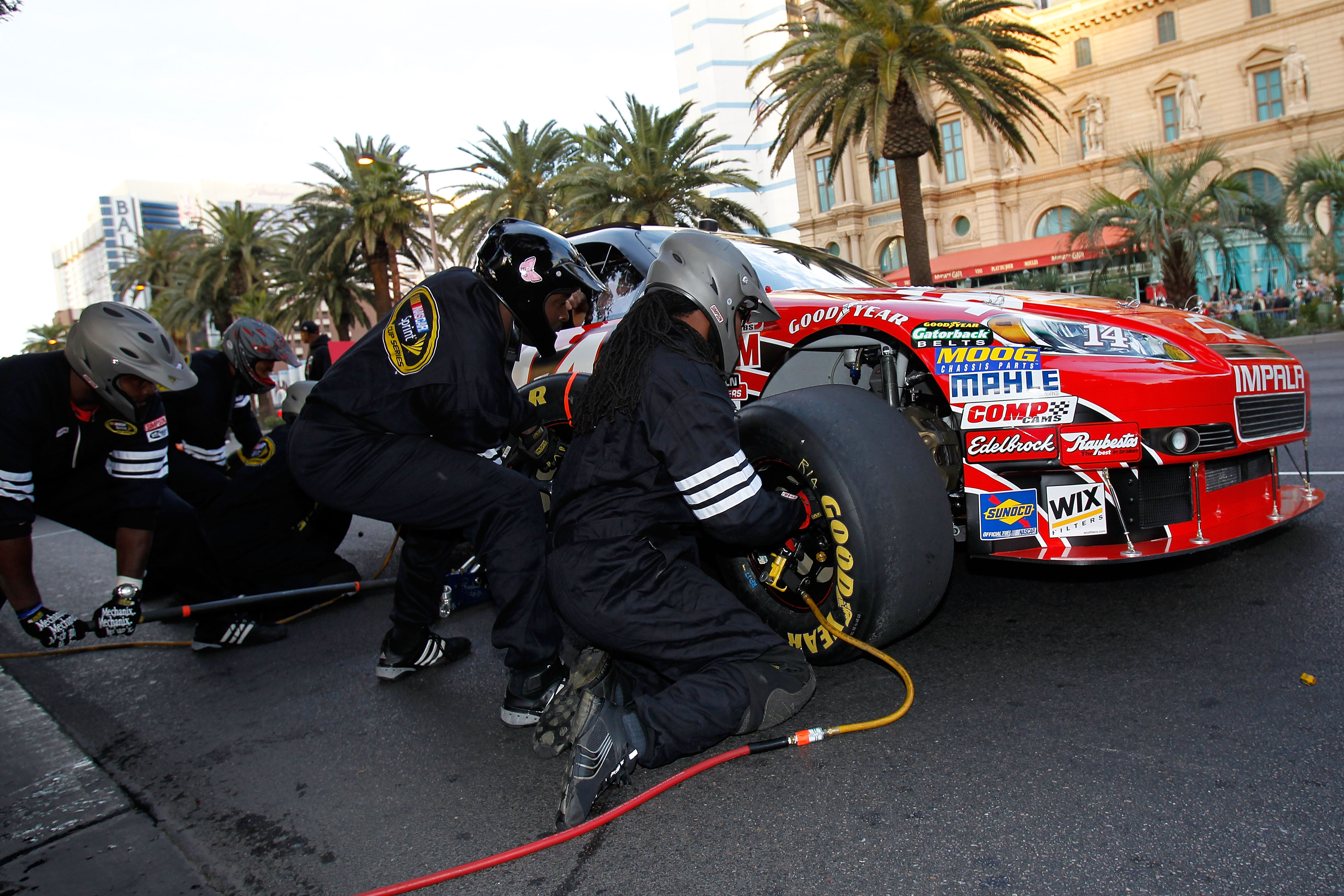 While Tony Stewart is enjoying his time in Las Vegas, he will be all business come February in Daytona.