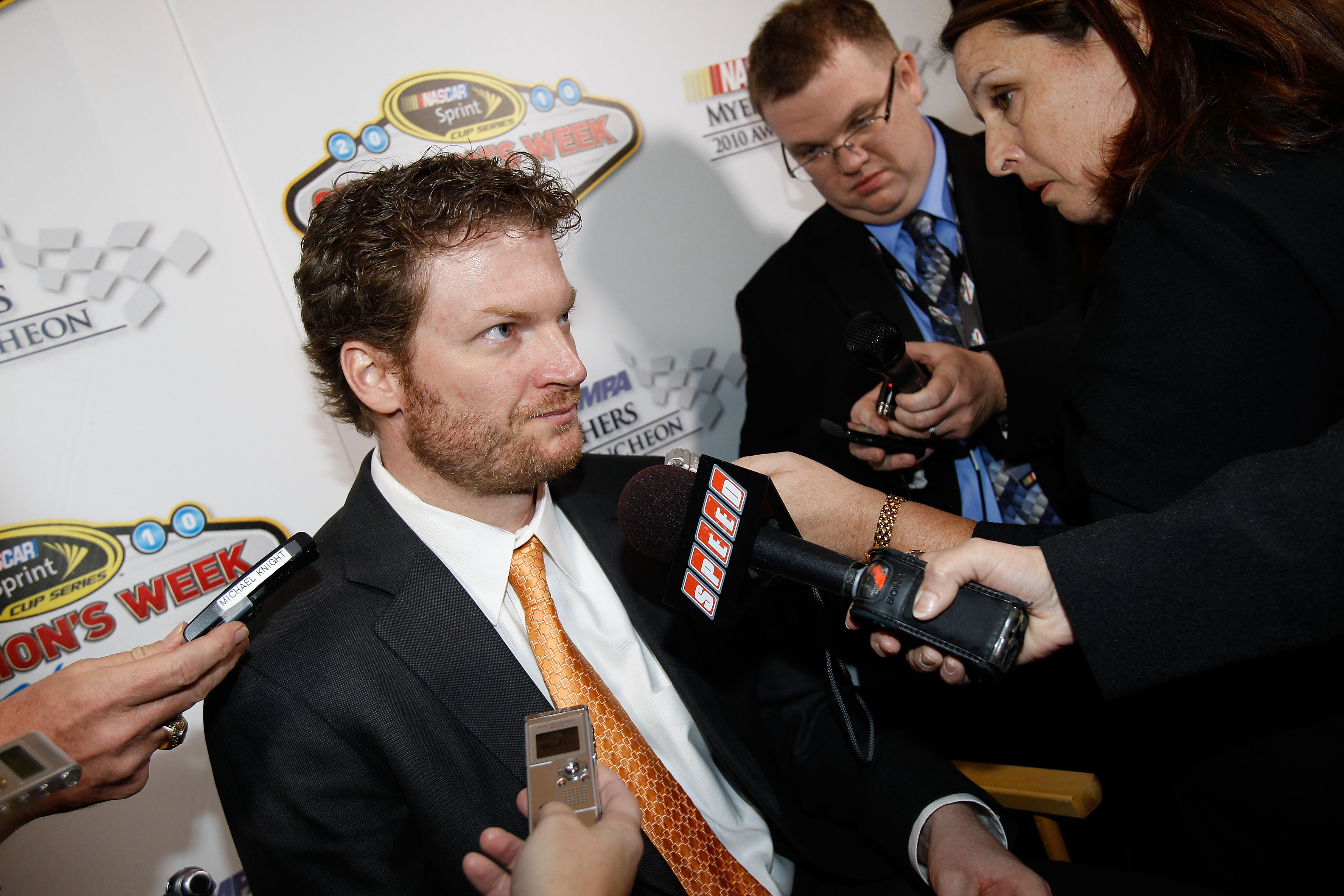 Dale Earnhardt Jr won his eighth consecutive most popular driver award.