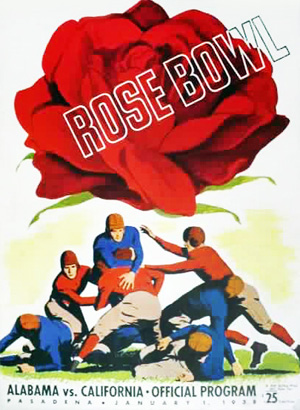 Wow, that giant rose is about to crush those hapless players.