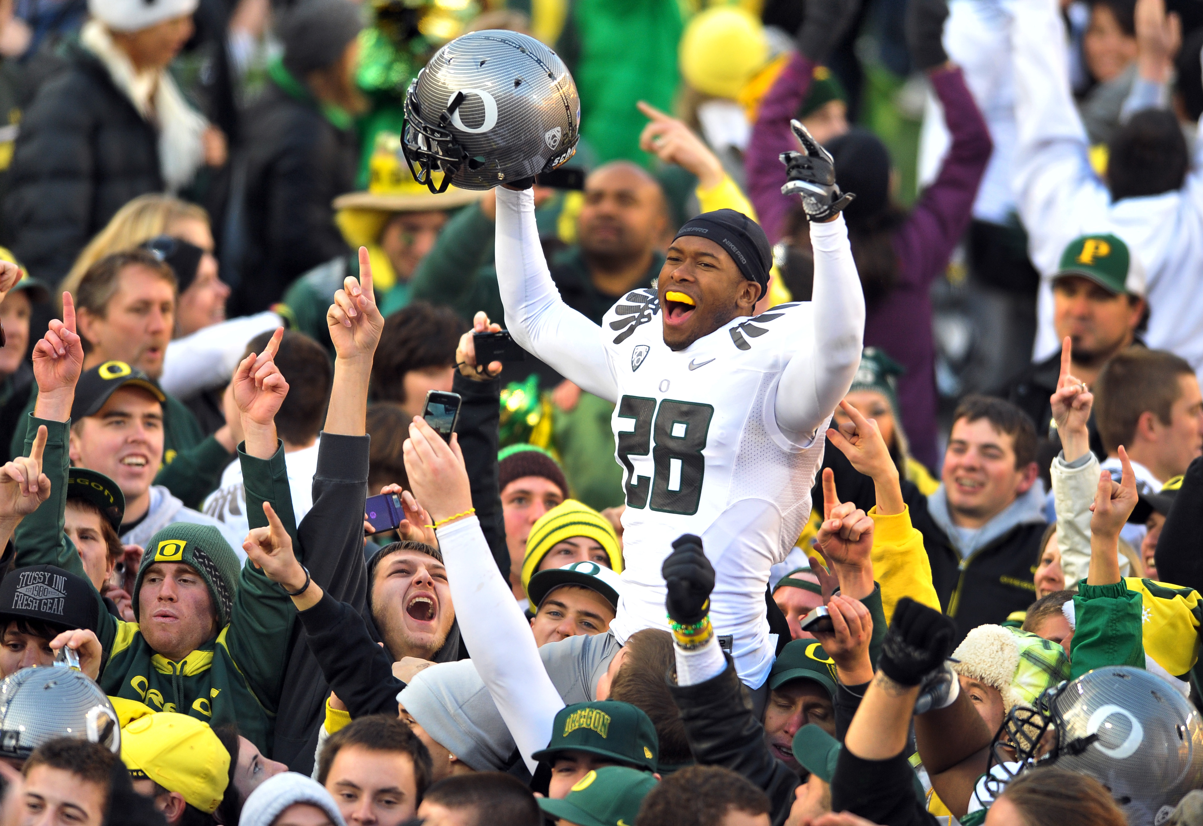 How will Oregon fare against the men from Auburn? Only time will tell?