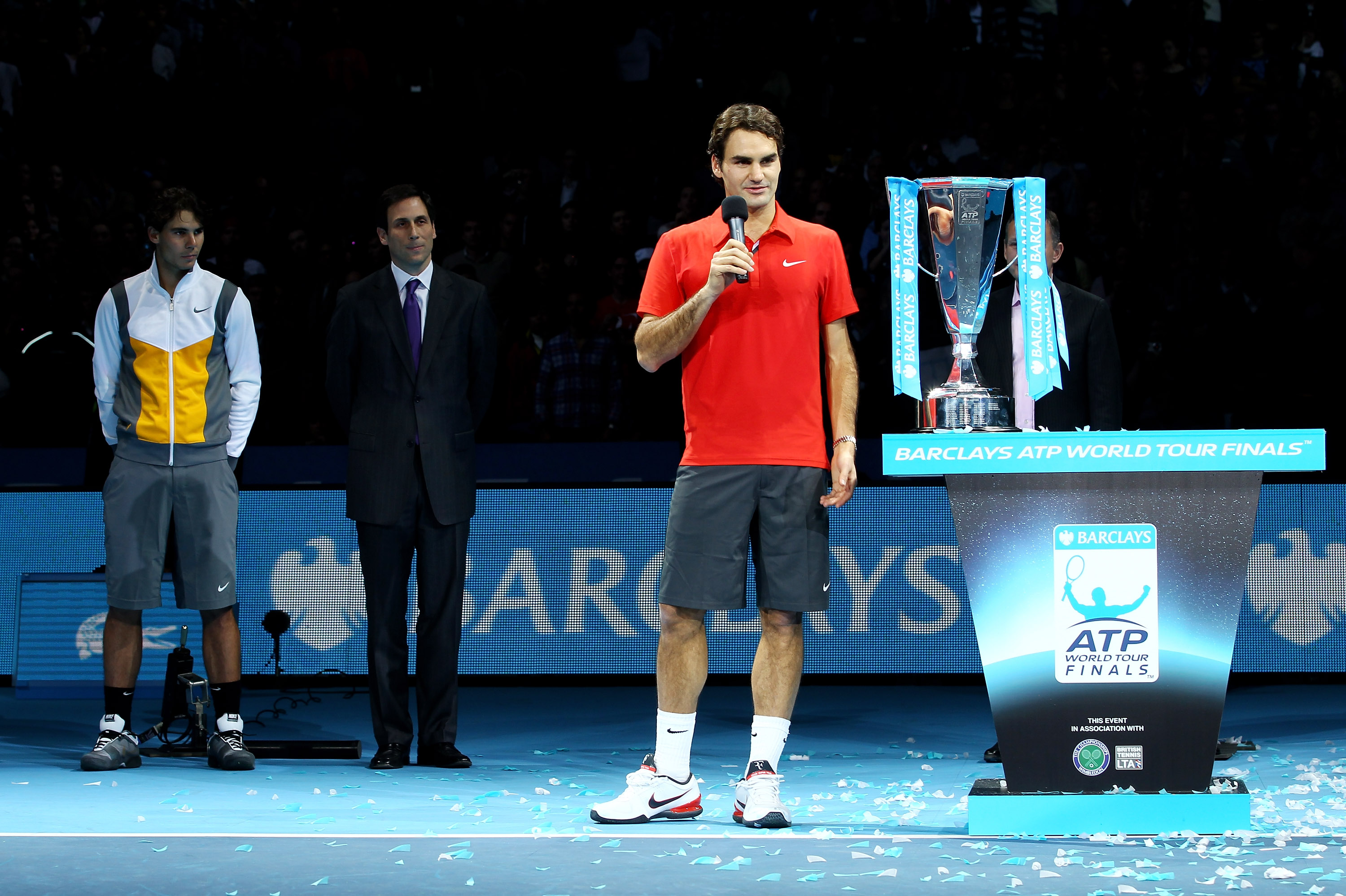 Roger Federer suffered some shock defeats this year, but overall, had a good season.