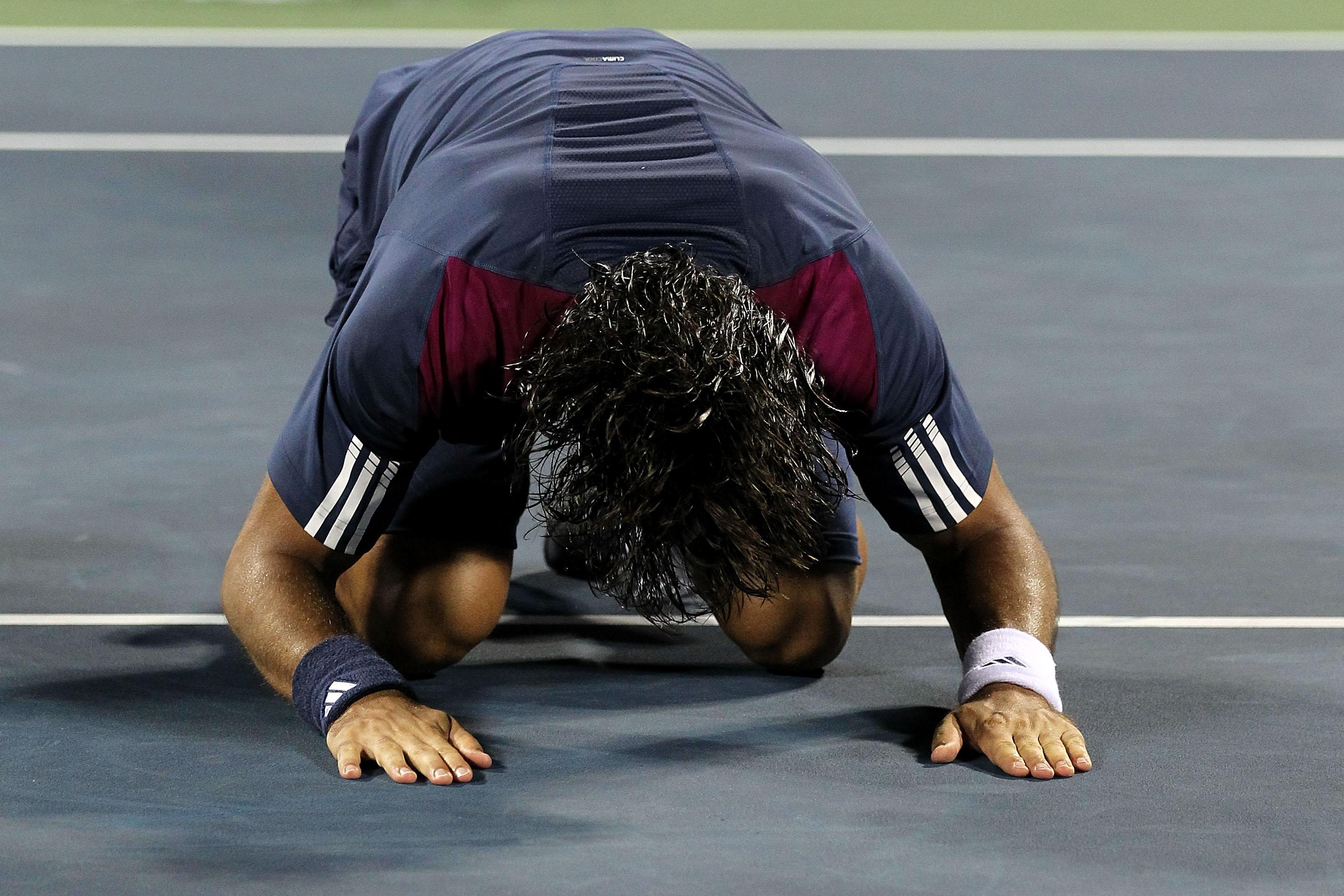 Fernando Verdasco hit the best shot of the year at the US Open against David Ferrer.