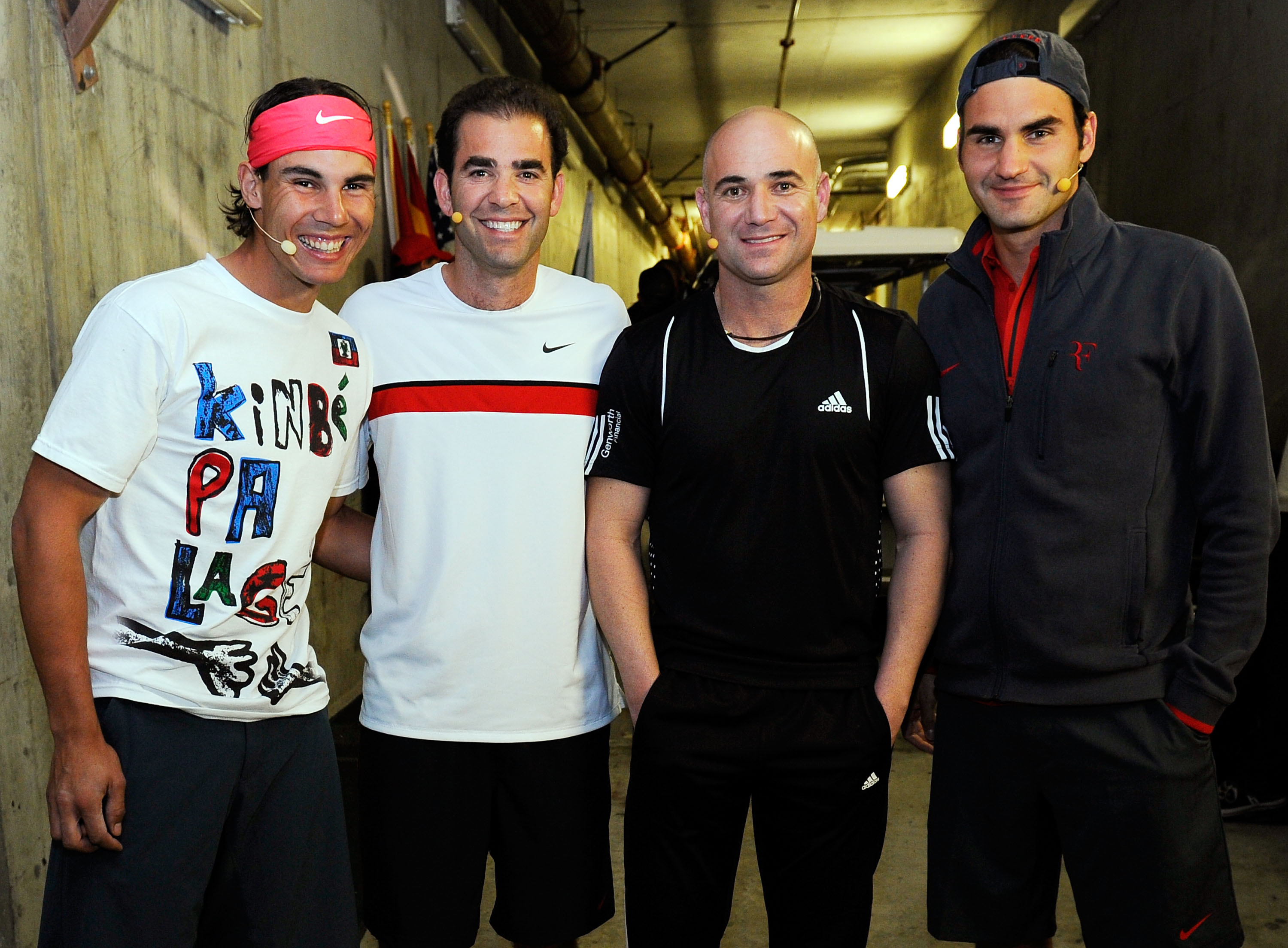 20 Years of Rivalry; Nadal, Sampras, Agassi, Federer