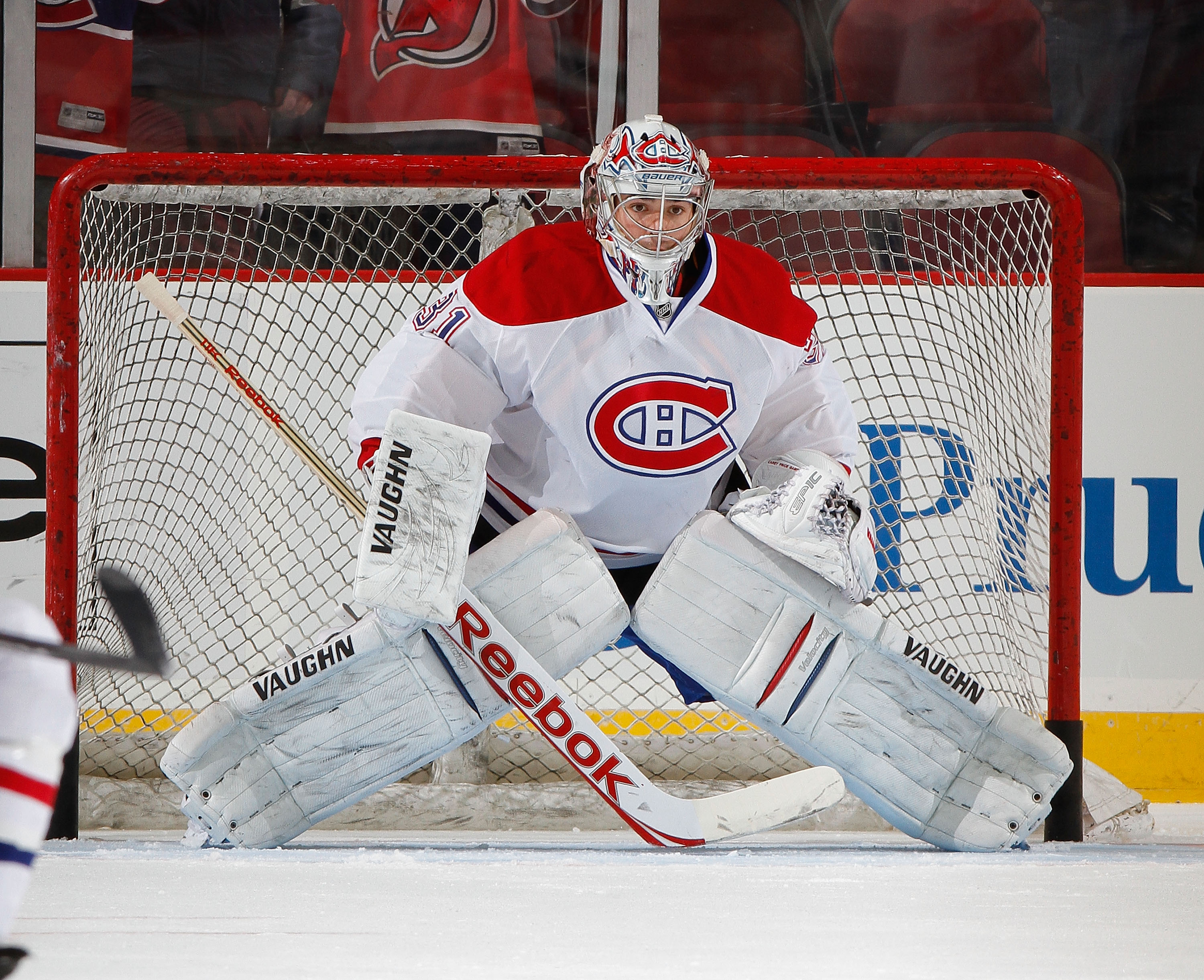 Carey Price has played in a league high 25 games this season for Montreal