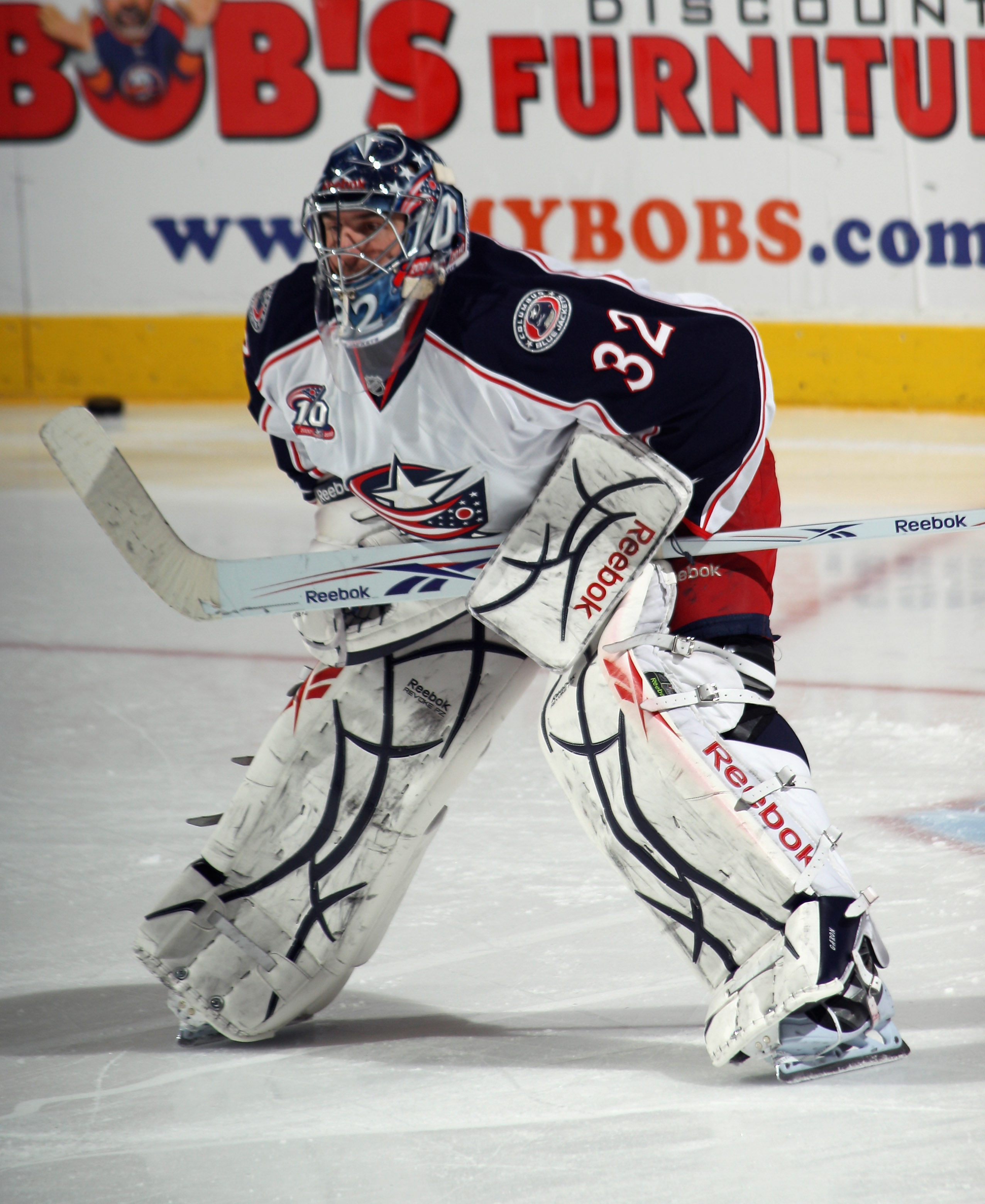 Mathieu Garon has seemingly supplanted Steve Mason as the number one goalie in Columbus