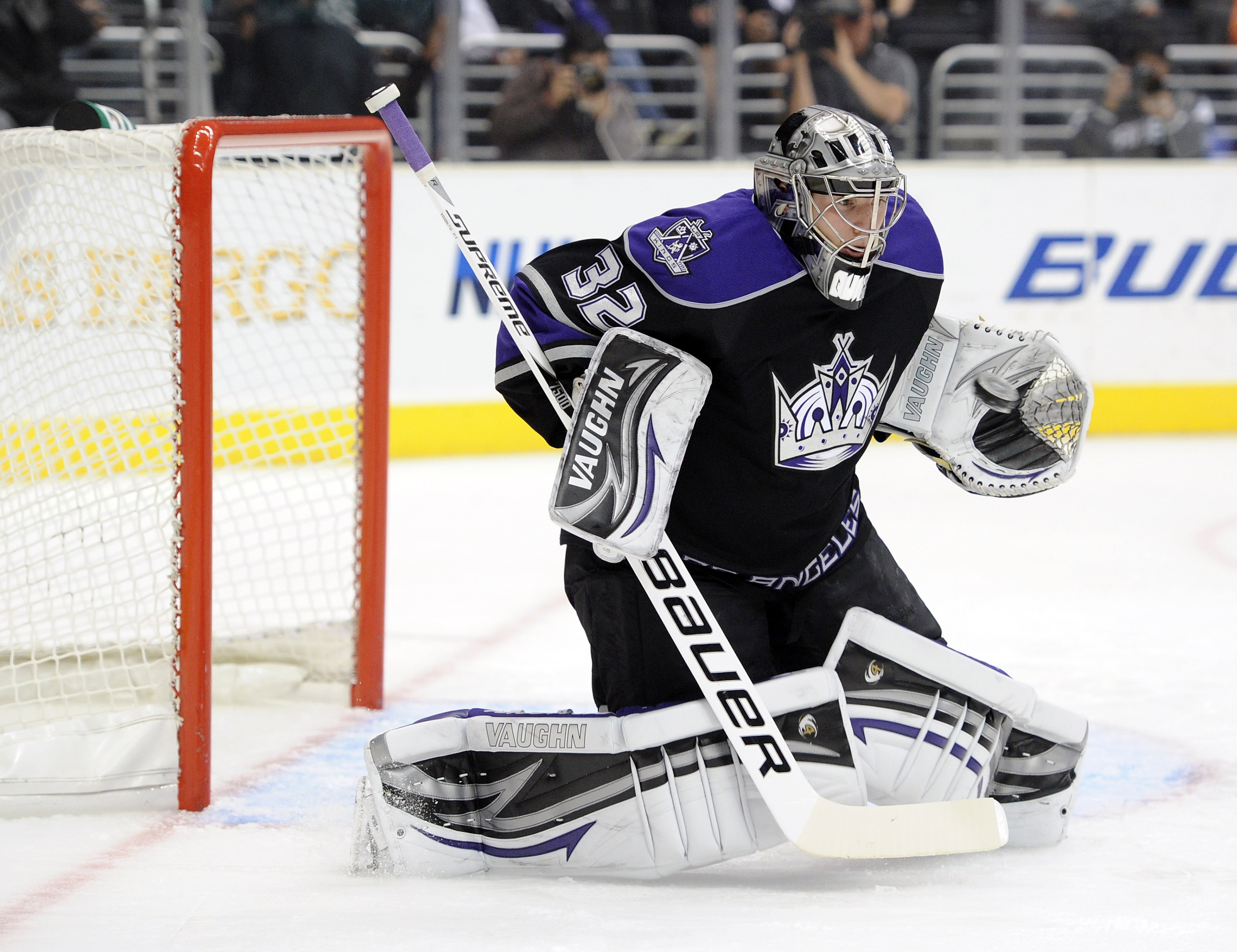 Jon Quick has been big in goal for the Kings