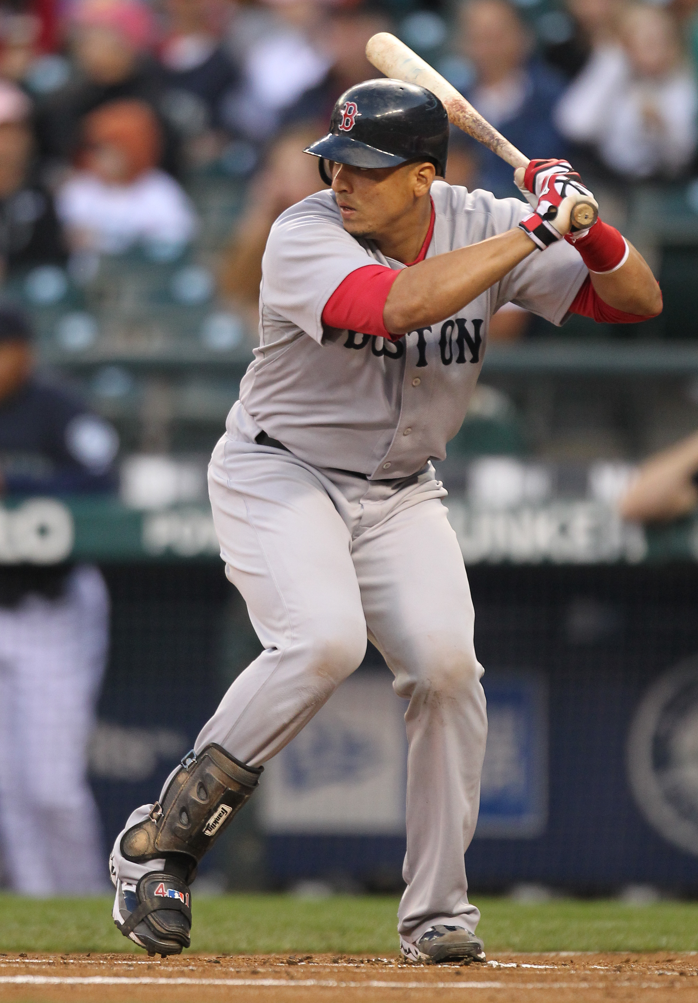 V-Mart is 31, and catchers over 30 usually break down quickly.