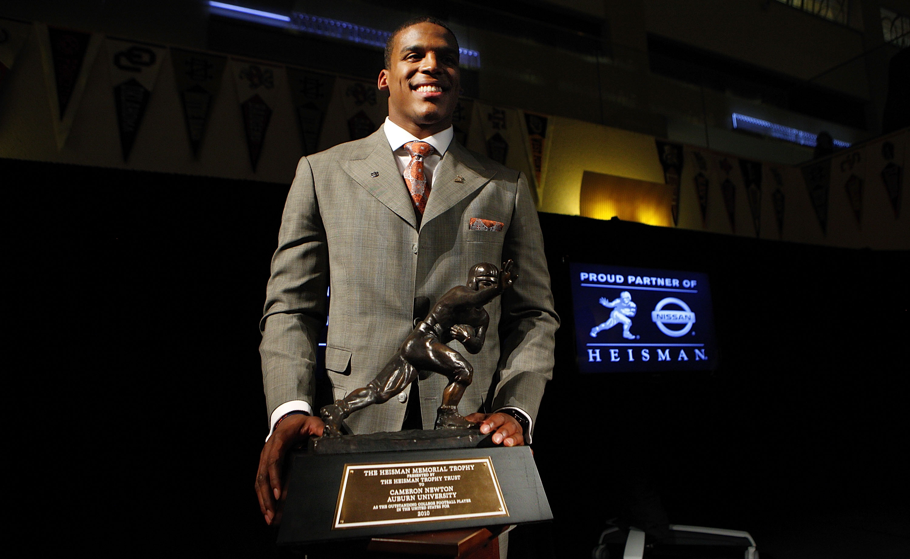 Where Does Cam Newton Rank Among Last 25 Heisman Winners   cfb890af5