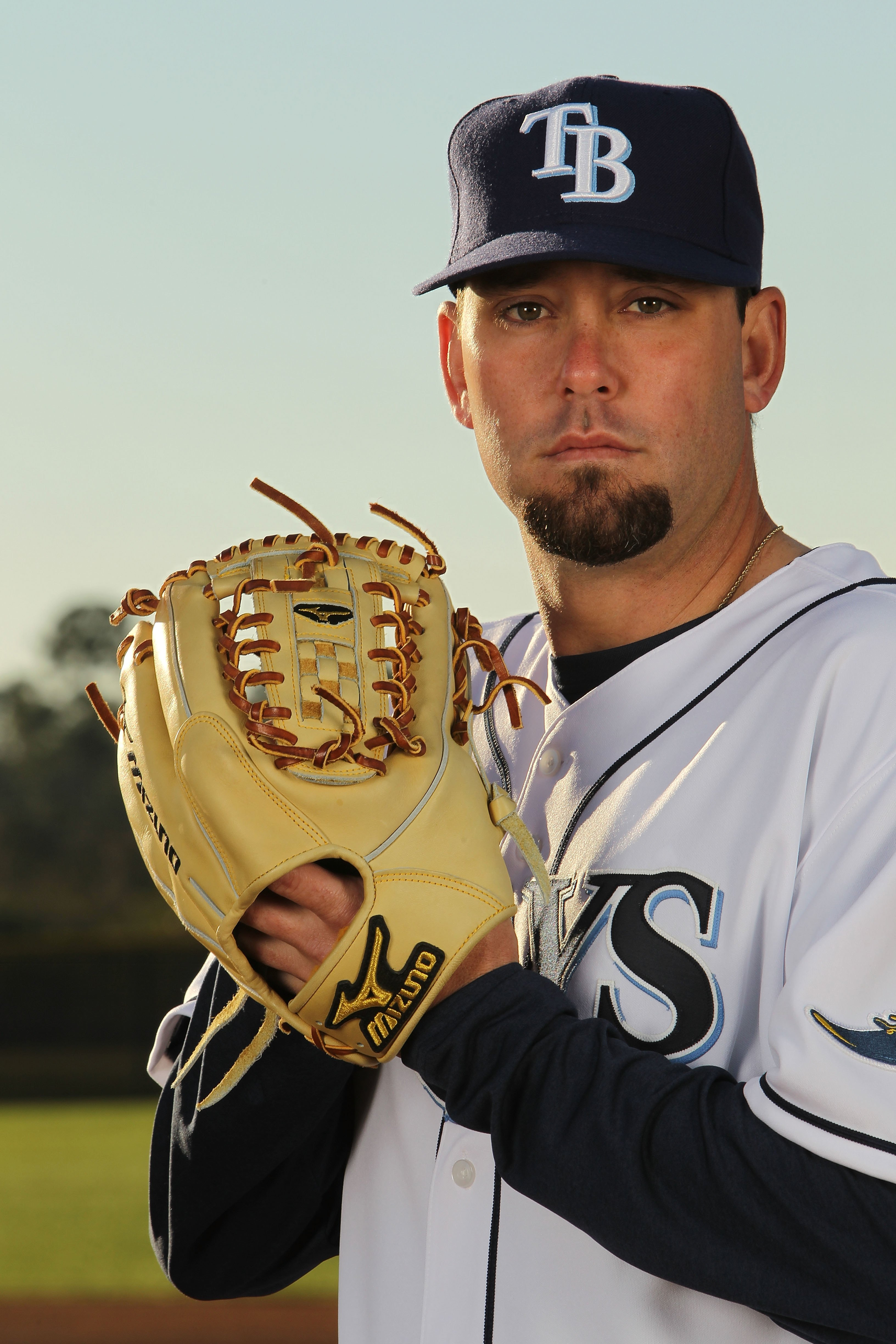 PORT CHARLOTTE, FL - FEBRUARY 26:  Dan Wheeler #35 of the Tampa Bay Rays poses for a photo during Spring Training Media Photo Day at Charlotte County Sports Park on February 26, 2010 in Port Charlotte, Florida.  (Photo by Nick Laham/Getty Images)
