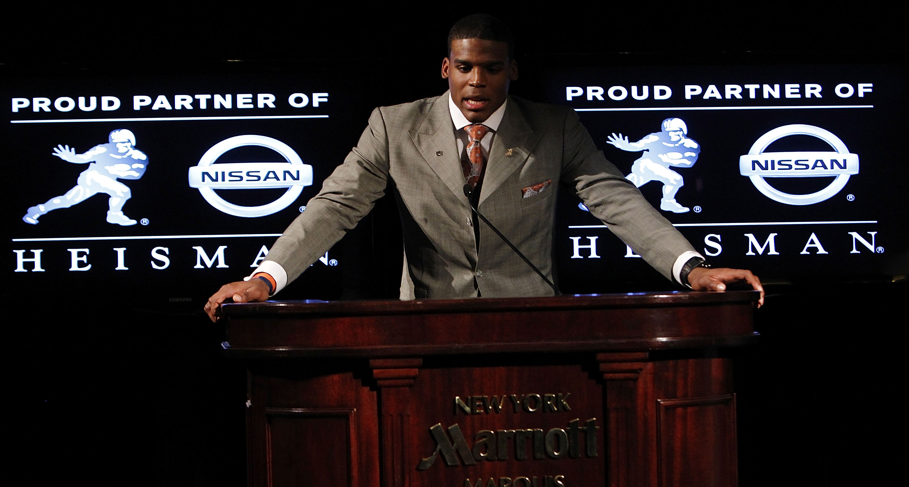 Heisman Trophy 2010: Where Does Cam Newton Rank in Heisman
