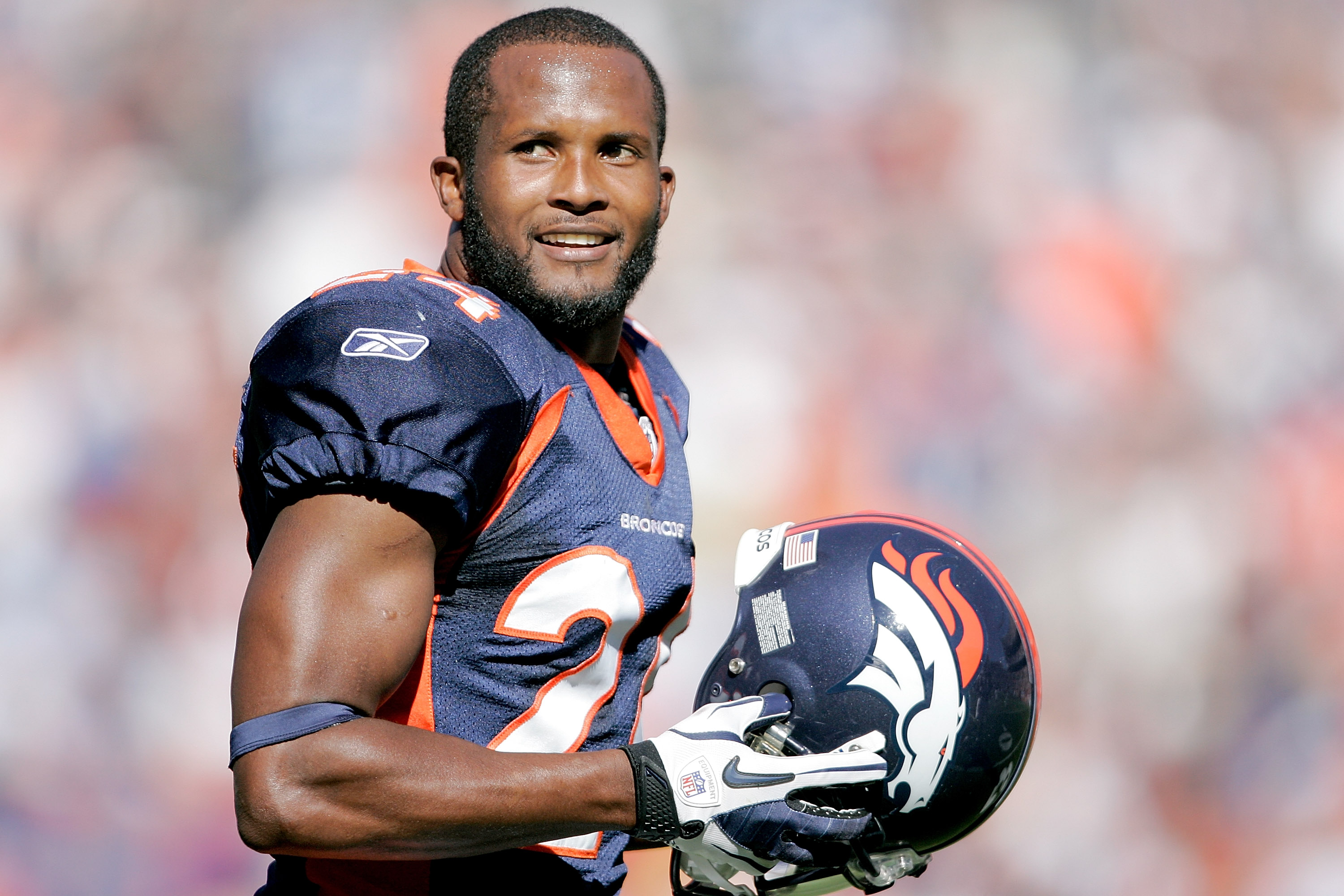DENVER - SEPTEMBER 26:  Cornerback Champ Bailey #24 of the Denver Broncos walks back onto the field against the Indianapolis Colts during NFL action at INVESCO Field at Mile High on September 26, 2010 in Denver, Colorado.  (Photo by Justin Edmonds/Getty I