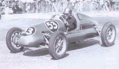 1951: A Daring Young Bernie In His Racing Machine