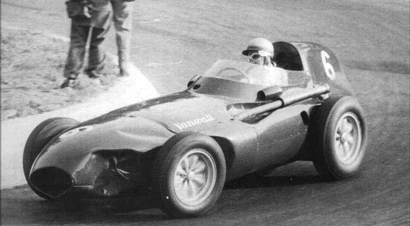 Stuart Lewis-Evans Driving The 1958 Vanwall