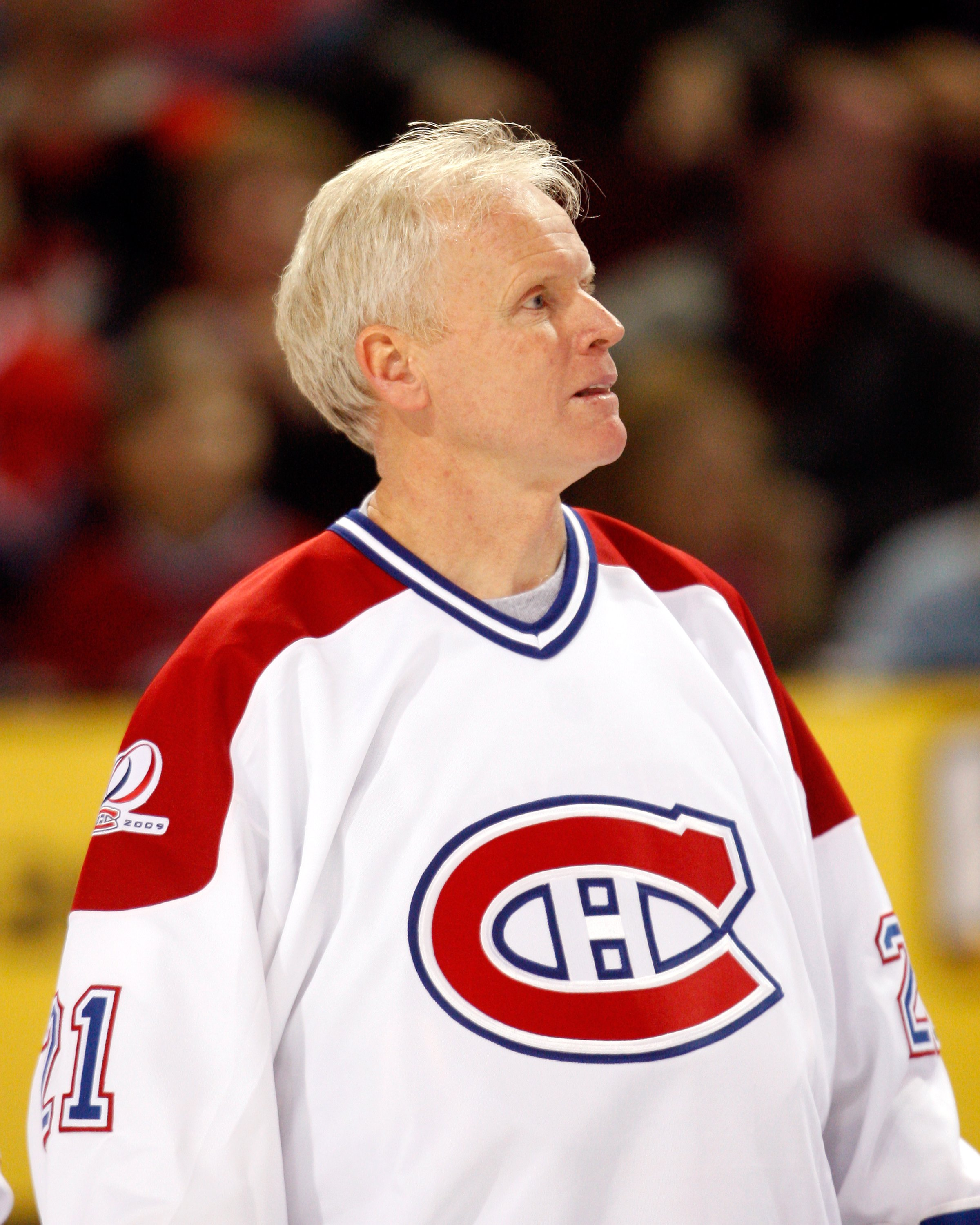 MONTREAL- DECEMBER 4:  Former Montreal Canadien Doug Jarvis watches the Centennial Celebration ceremonies prior to the NHL game between the Montreal Canadiens and Boston Bruins on December 4, 2009 at the Bell Centre in Montreal, Quebec, Canada.  The Canad