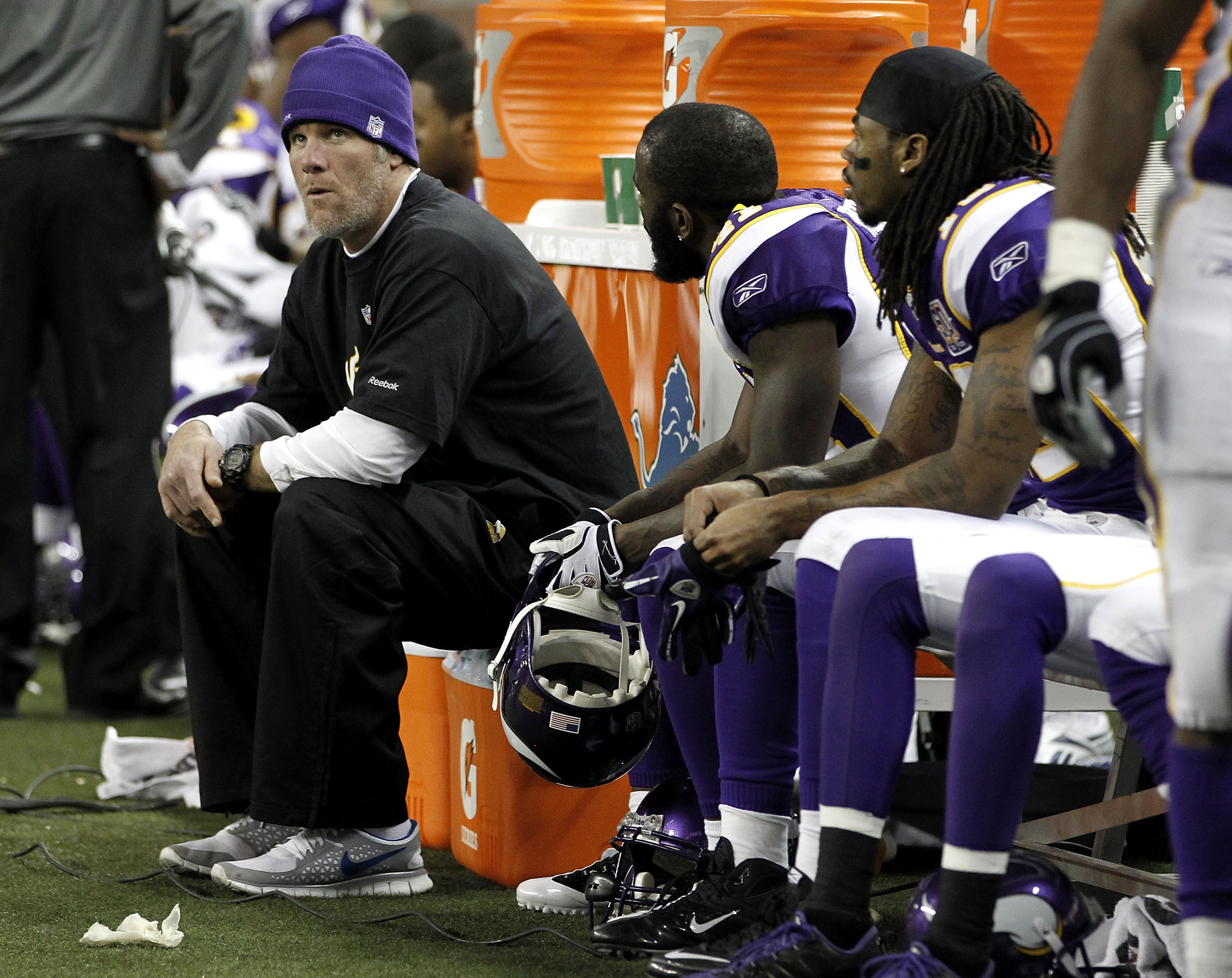 Can anyone find at least two Vikings who will not be in uniform in 2011?