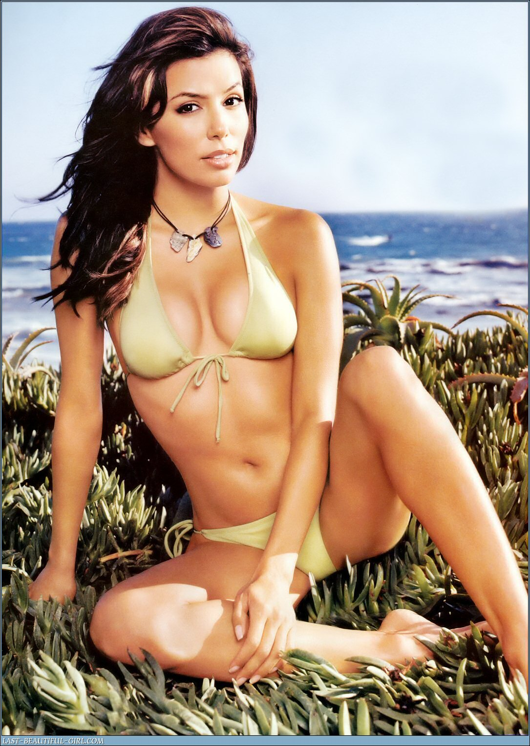 Desperate Housewife No More! Eva showing off in MAXIM.