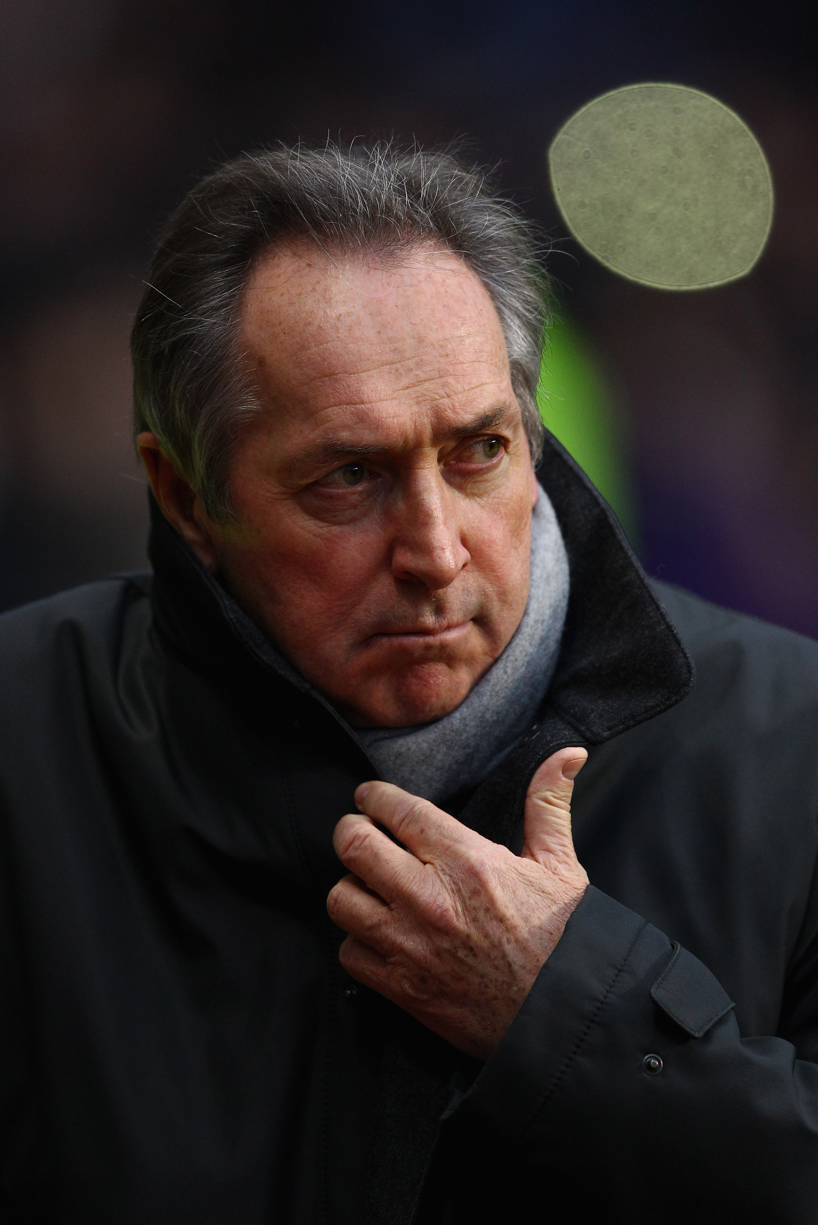 BIRMINGHAM, ENGLAND - DECEMBER 11:  Villa manager Gerard Houllier looks on during the Barclays Premier League match between Aston Villa and West Bromwich Albion at Villa Park on December 11, 2010 in Birmingham, England.  (Photo by Richard Heathcote/Getty