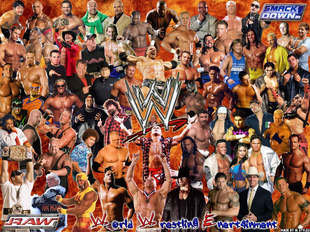 Spoznáte wrestlerov WWE podľa obrázku? #2